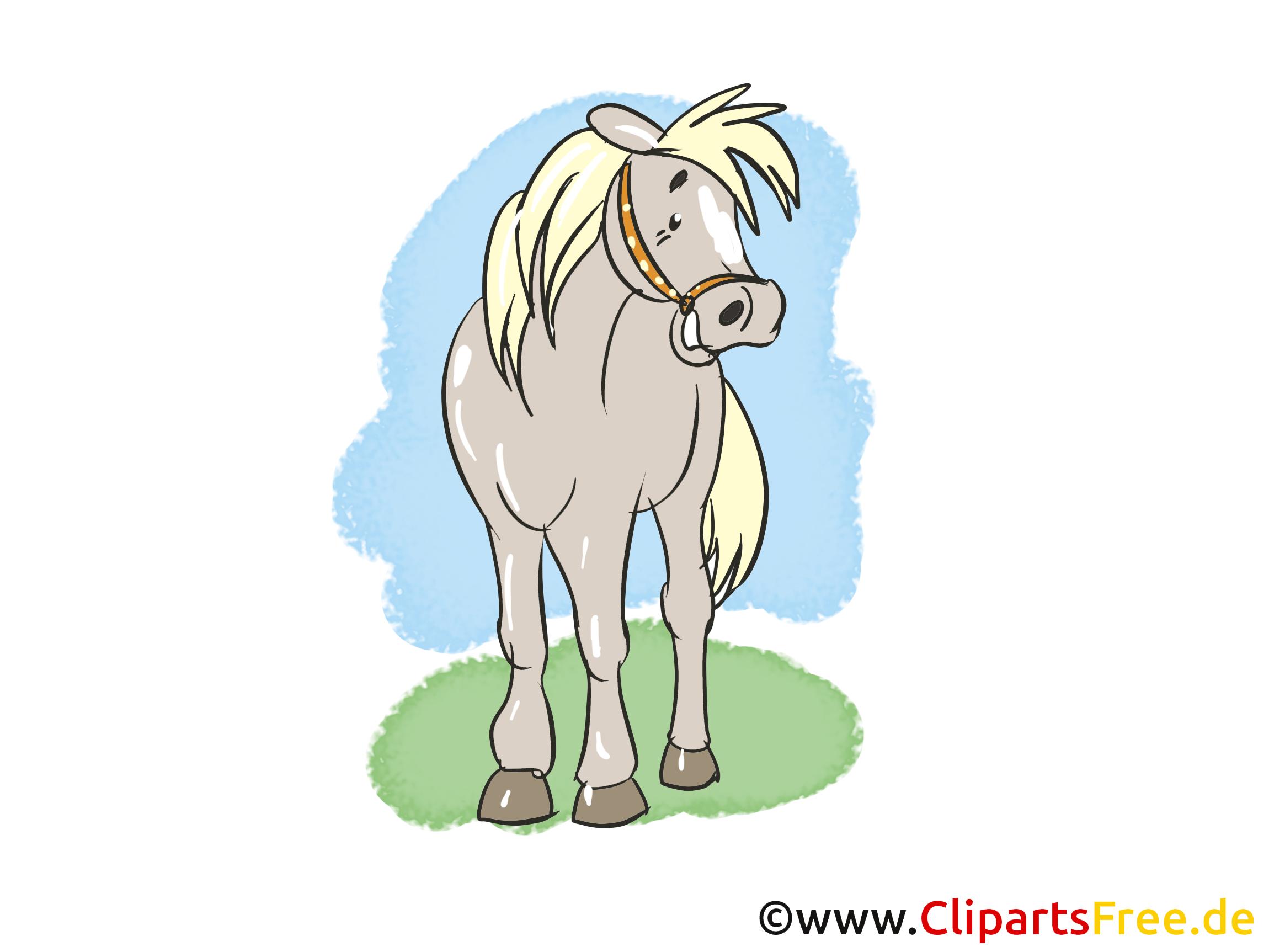 Rire clip art gratuit – Cheval dessin