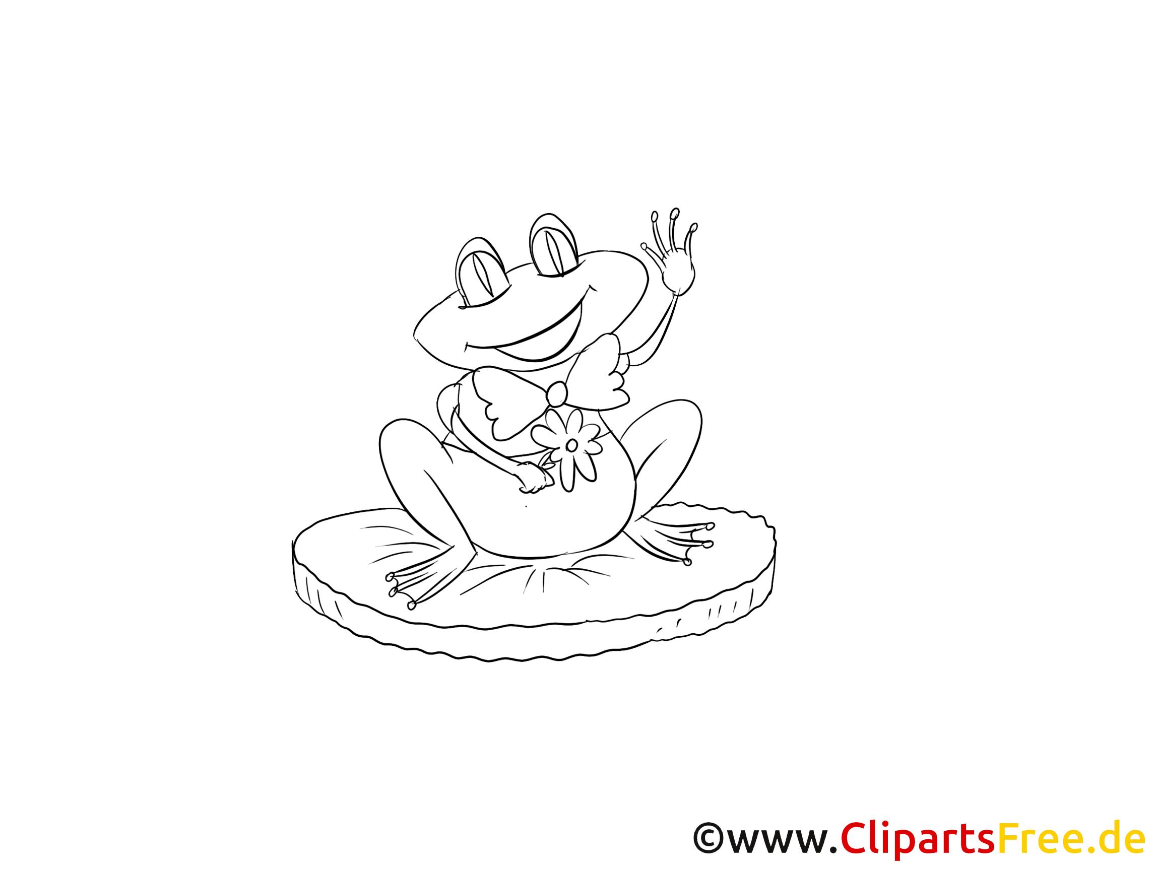 Grenouille illustration – Animal à imprimer
