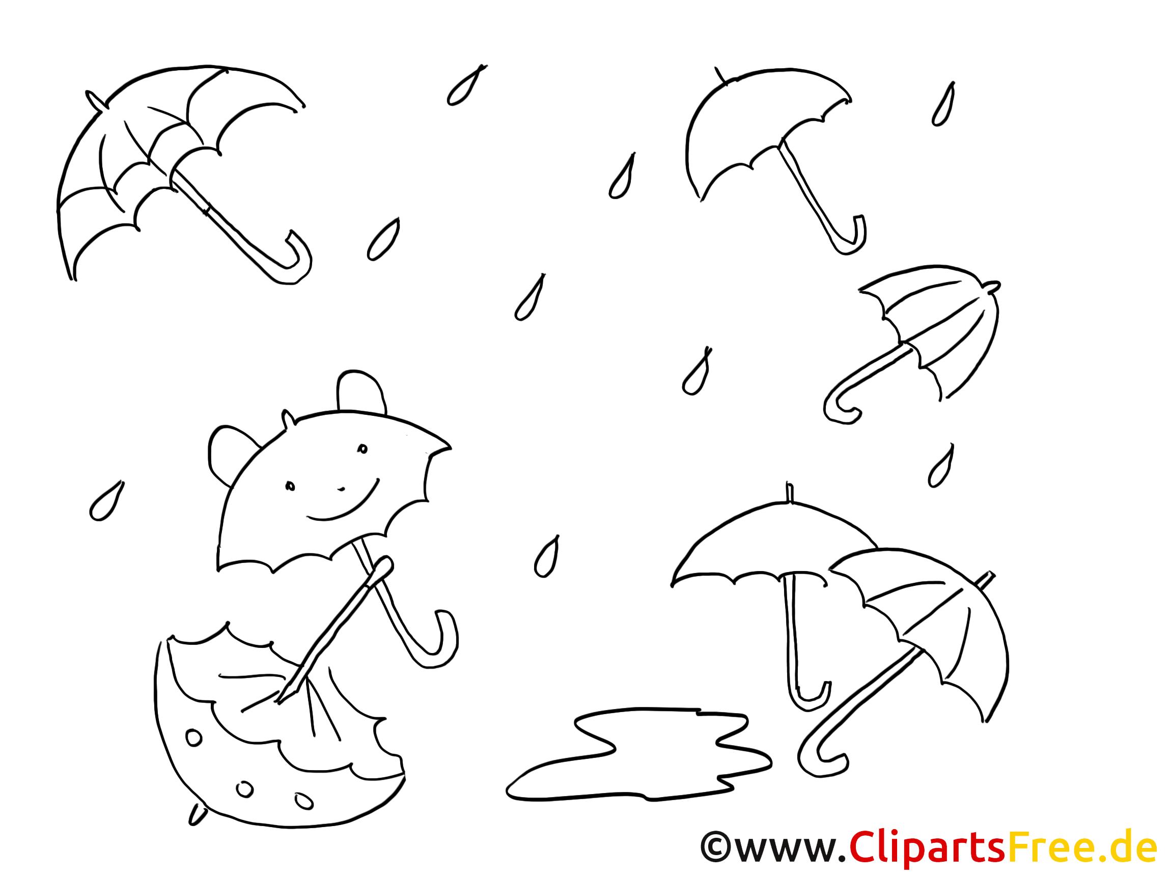 Parapluies dessin coloriage automne t l charger - Parapluie dessin ...