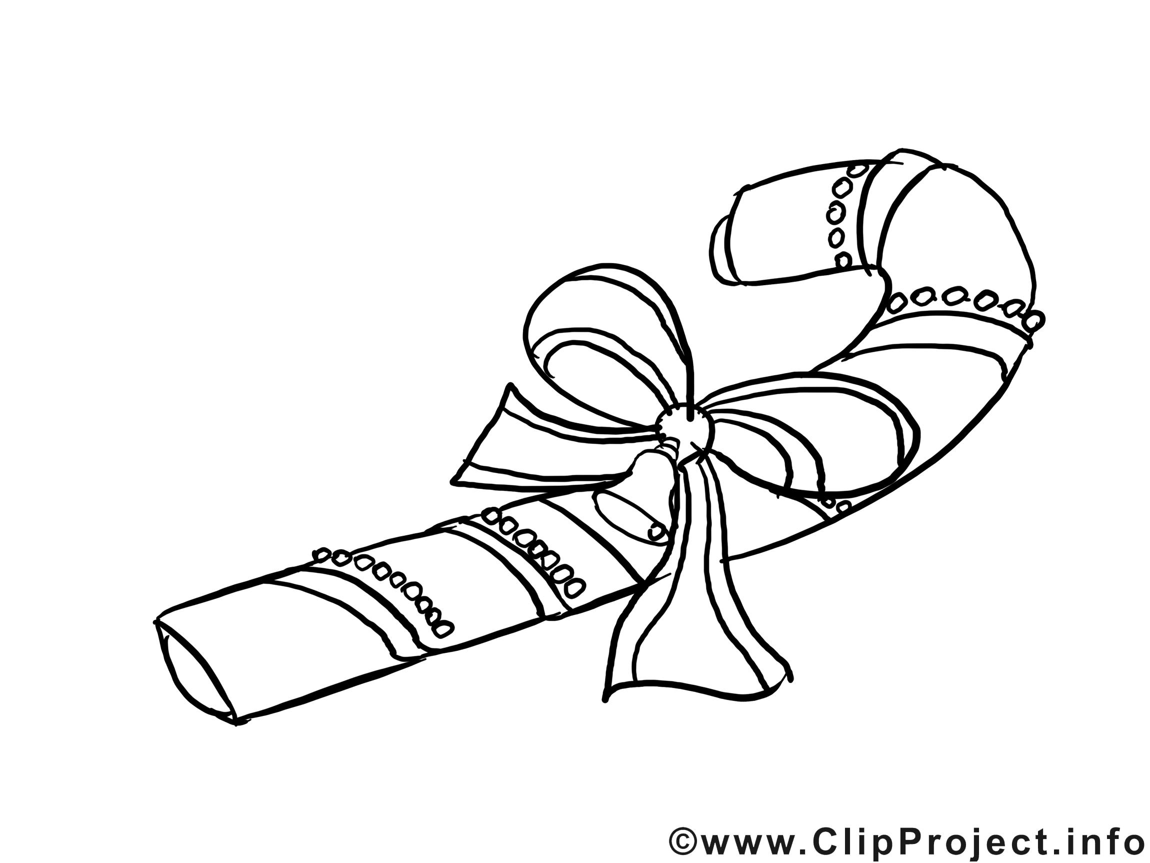 Bonbon dessin – Coloriage nouvel an à télécharger