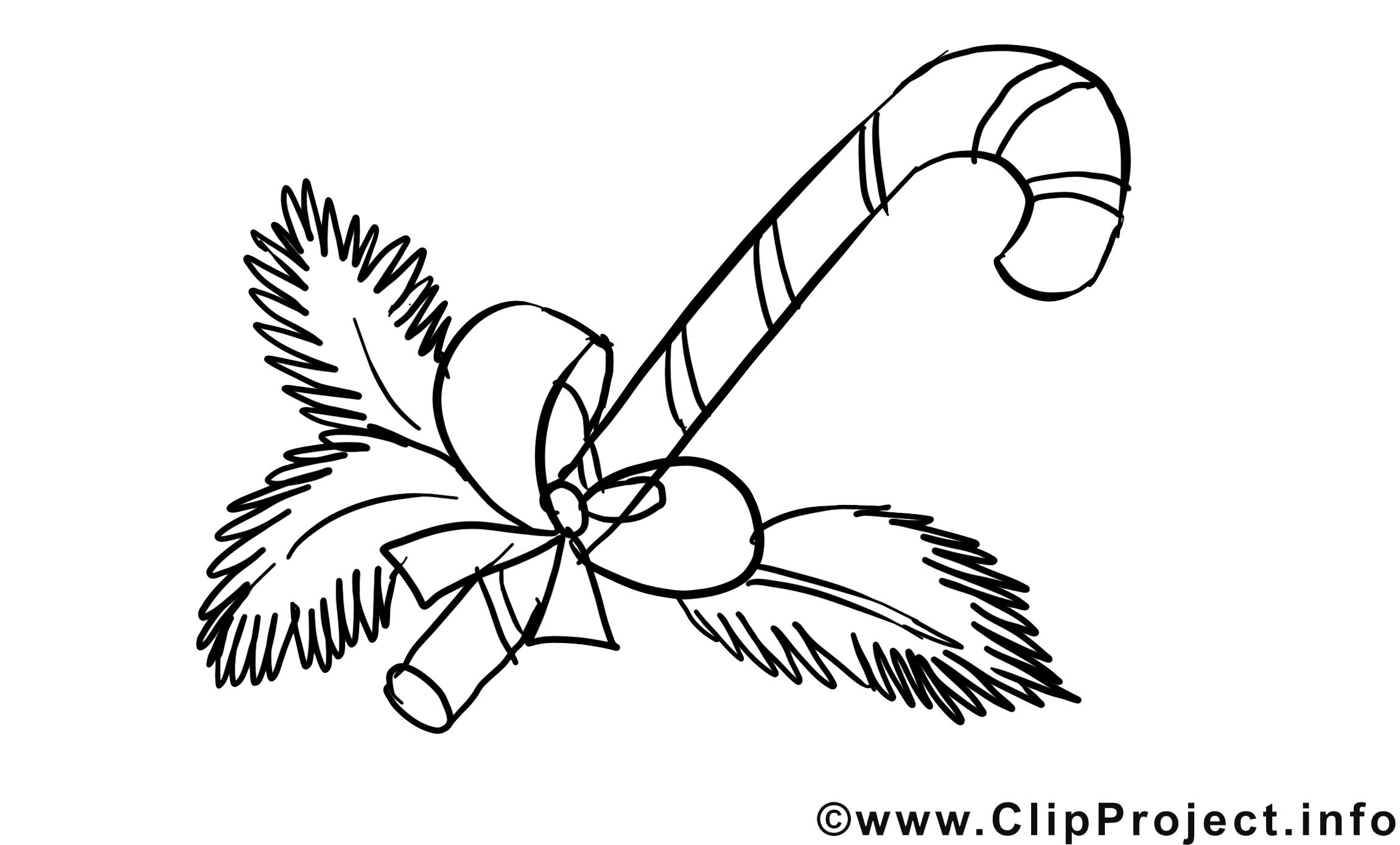 Bonbon illustration – Avent à imprimer