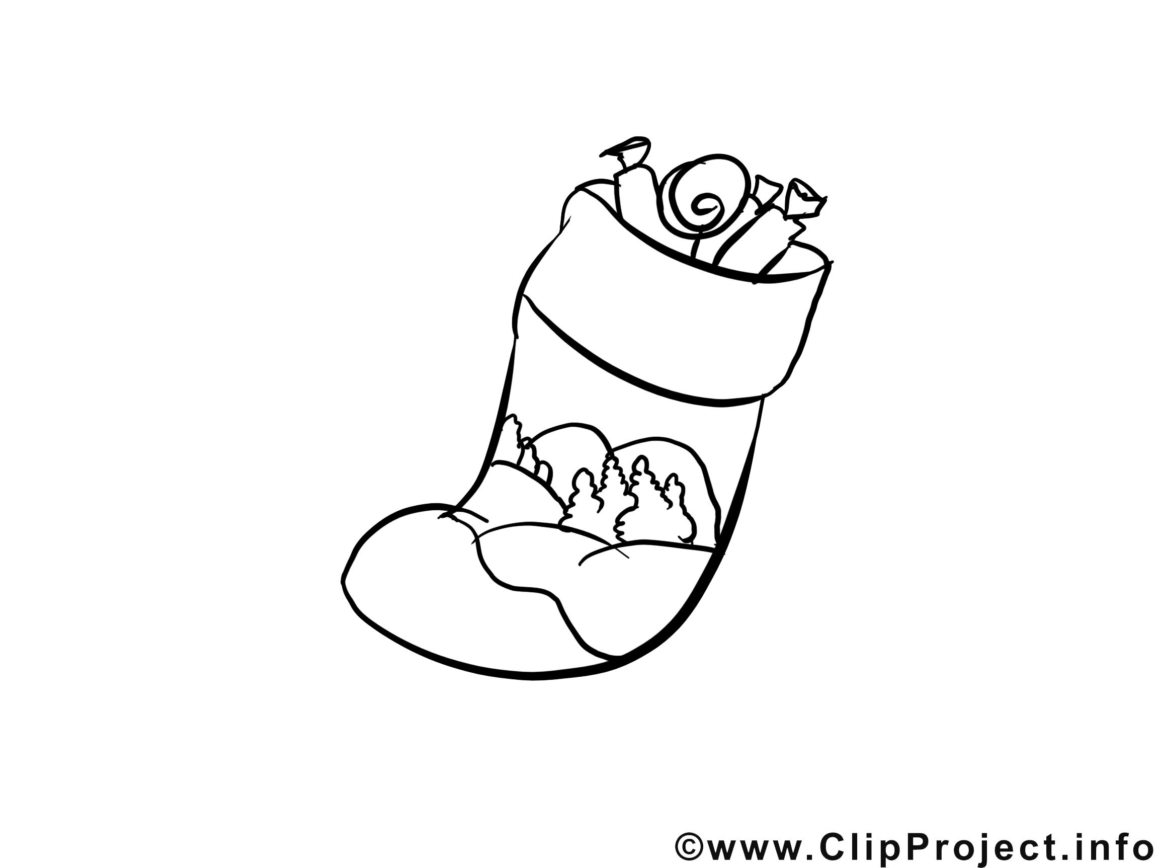 Bonbons illustration – Avent à colorier