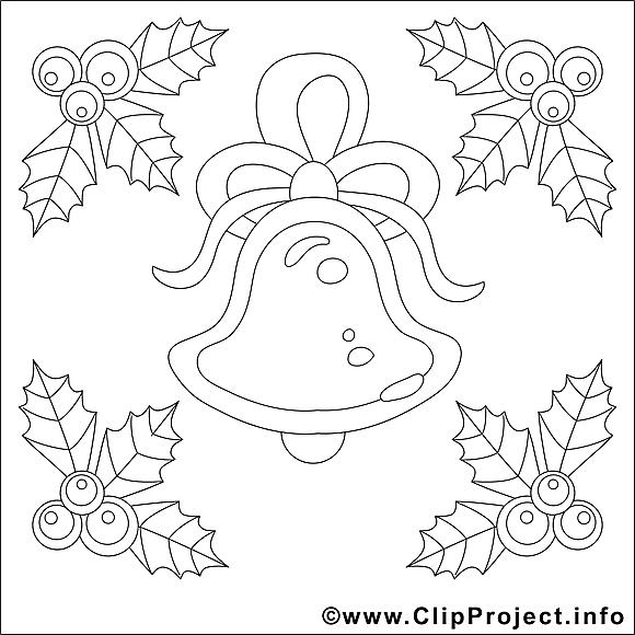 Clochette illustration – Avent à imprimer