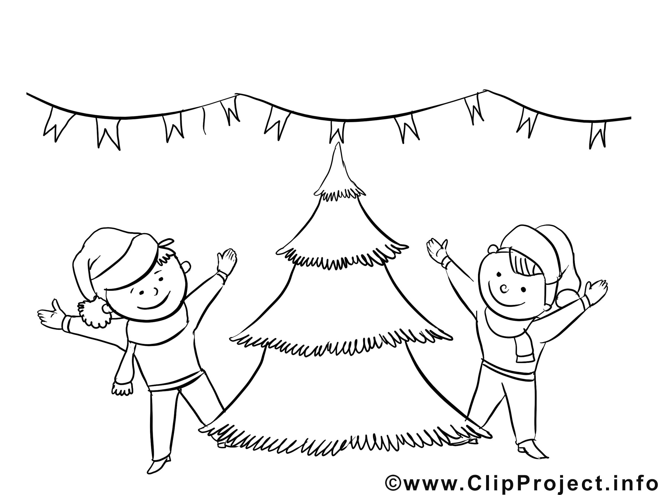 Enfants clip art gratuit – Avent à imprimer