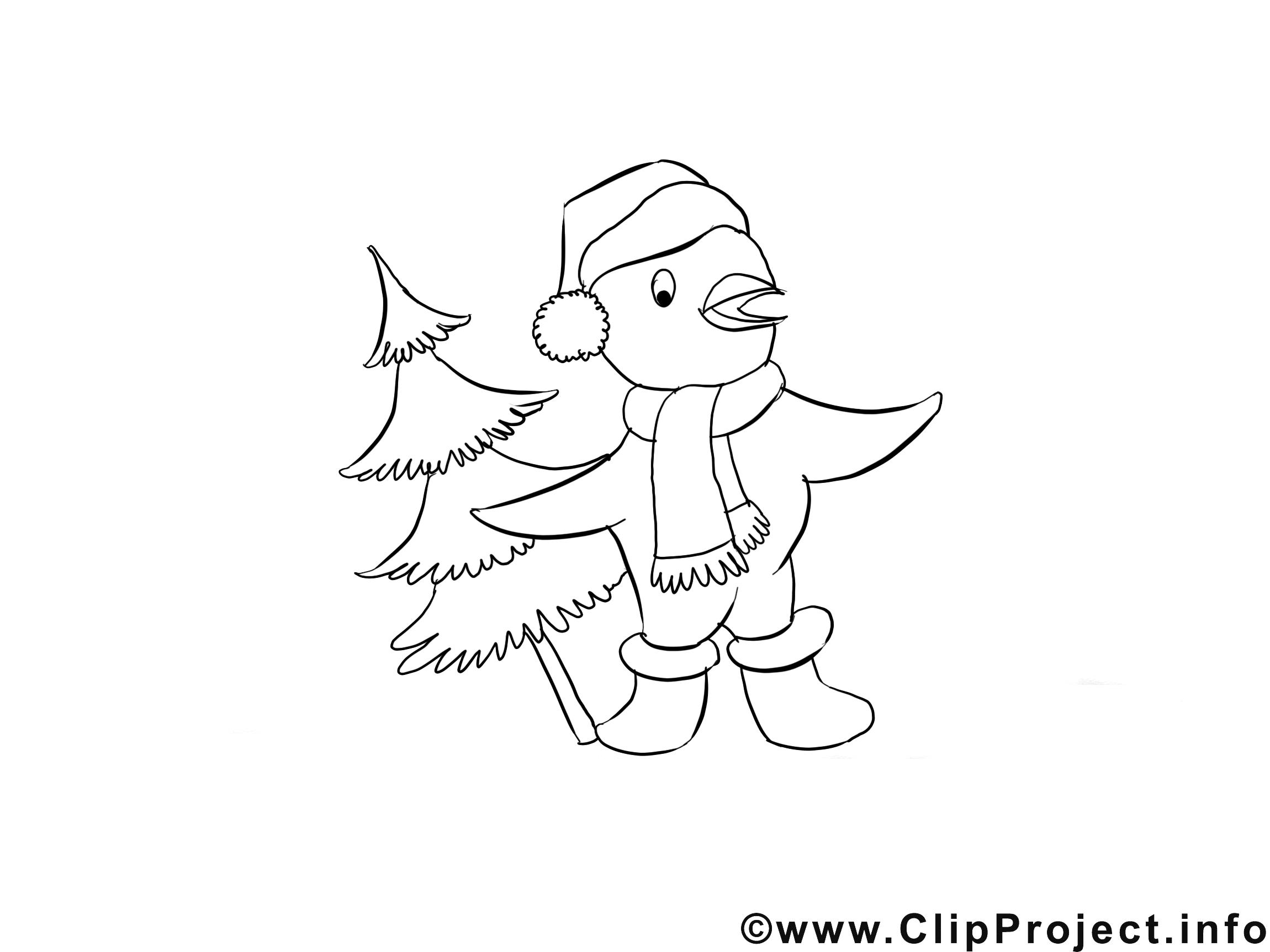 Oiseau clipart gratuit – Avent à colorier