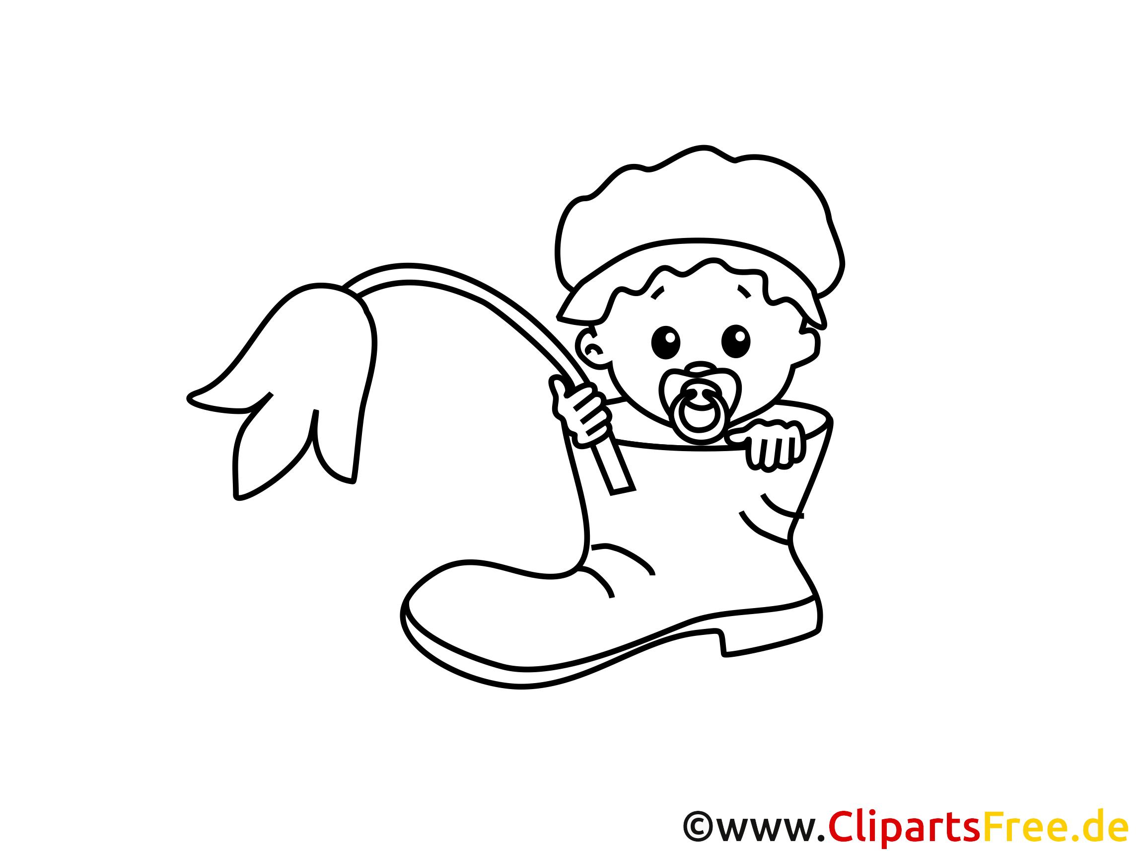 Fleur clipart – Bébé dessins  colorier