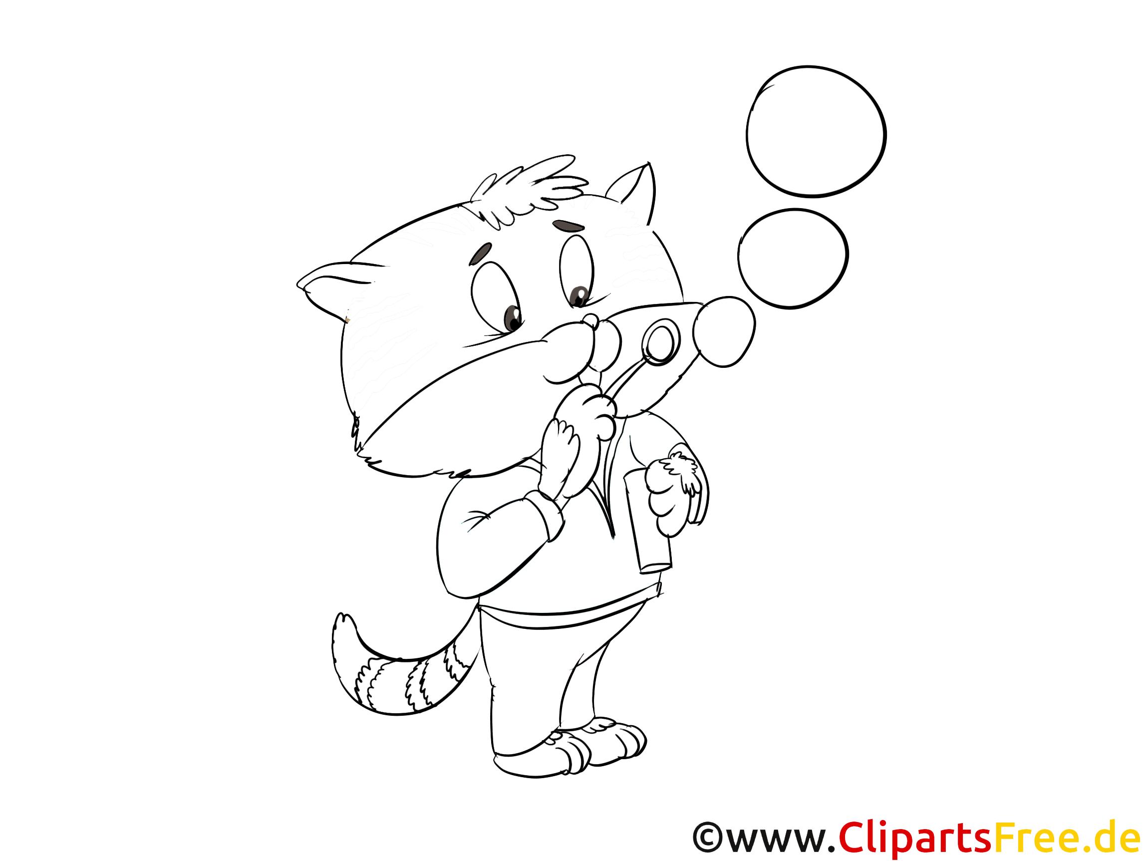 Bulle de savon clip art gratuit chats imprimer chats coloriages dessin picture image - Telecharger image de chat gratuit ...