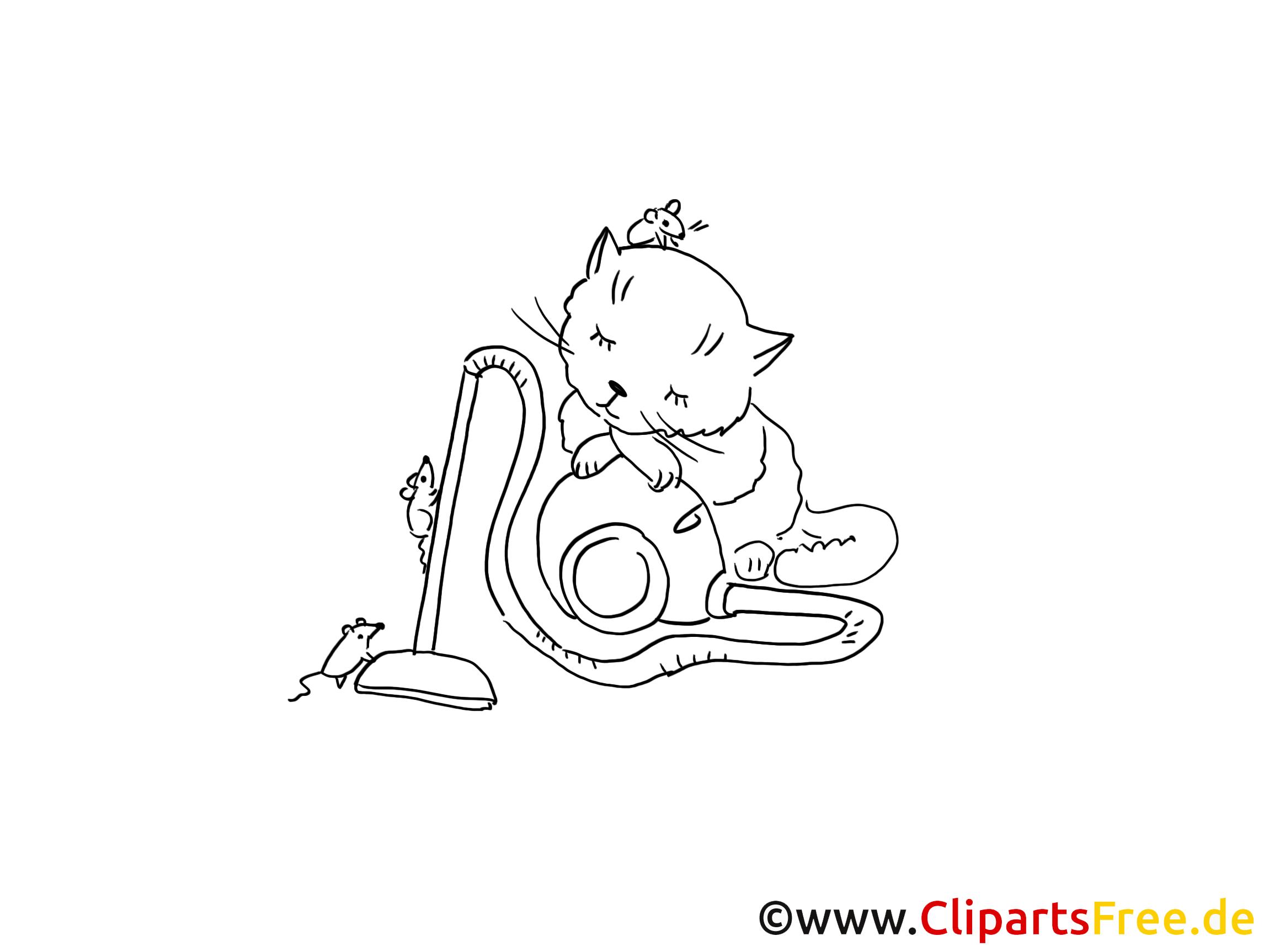 Souris cliparts gratuis – Chats à imprimer