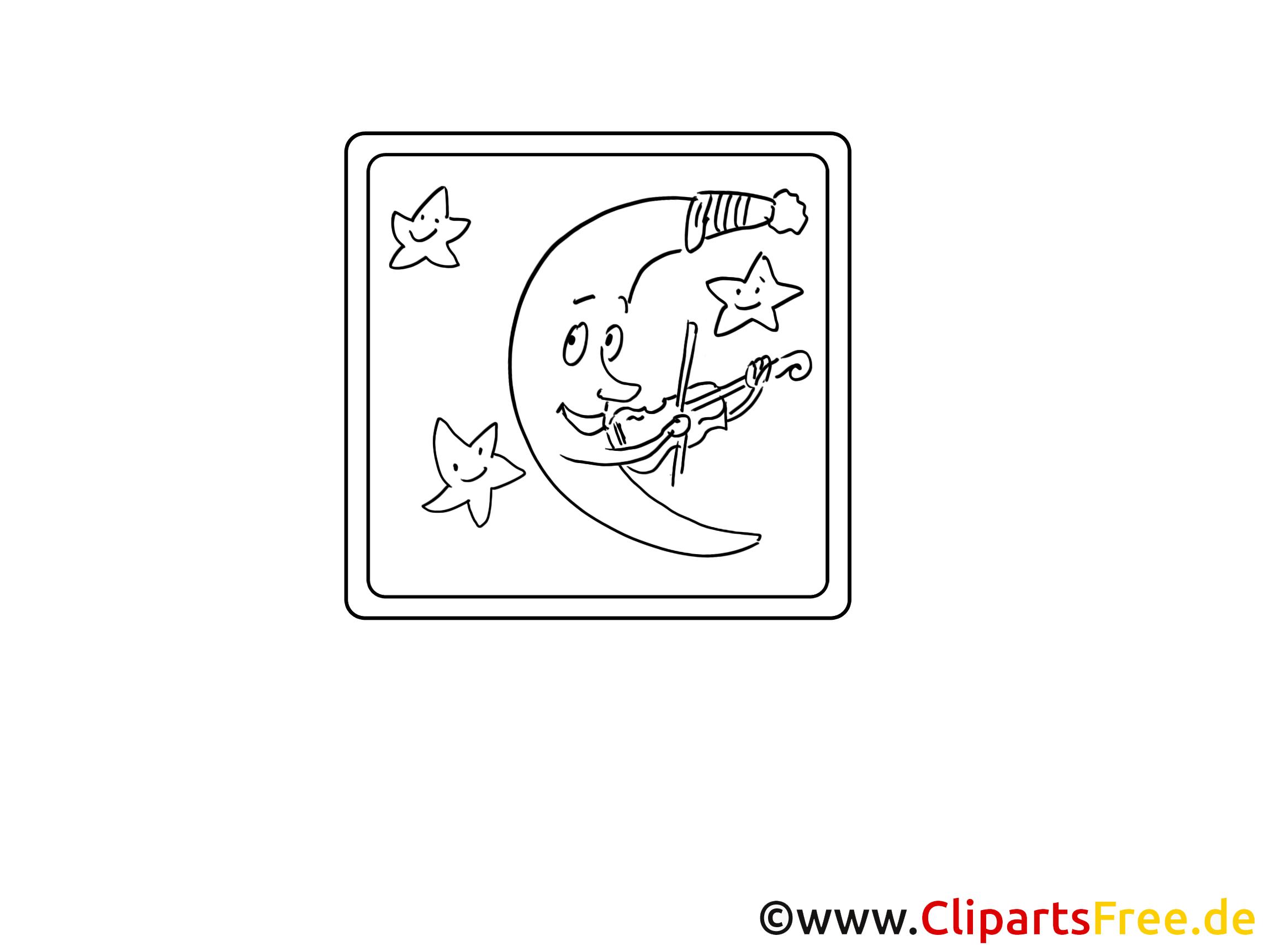 Croissant illustration – Divers à imprimer