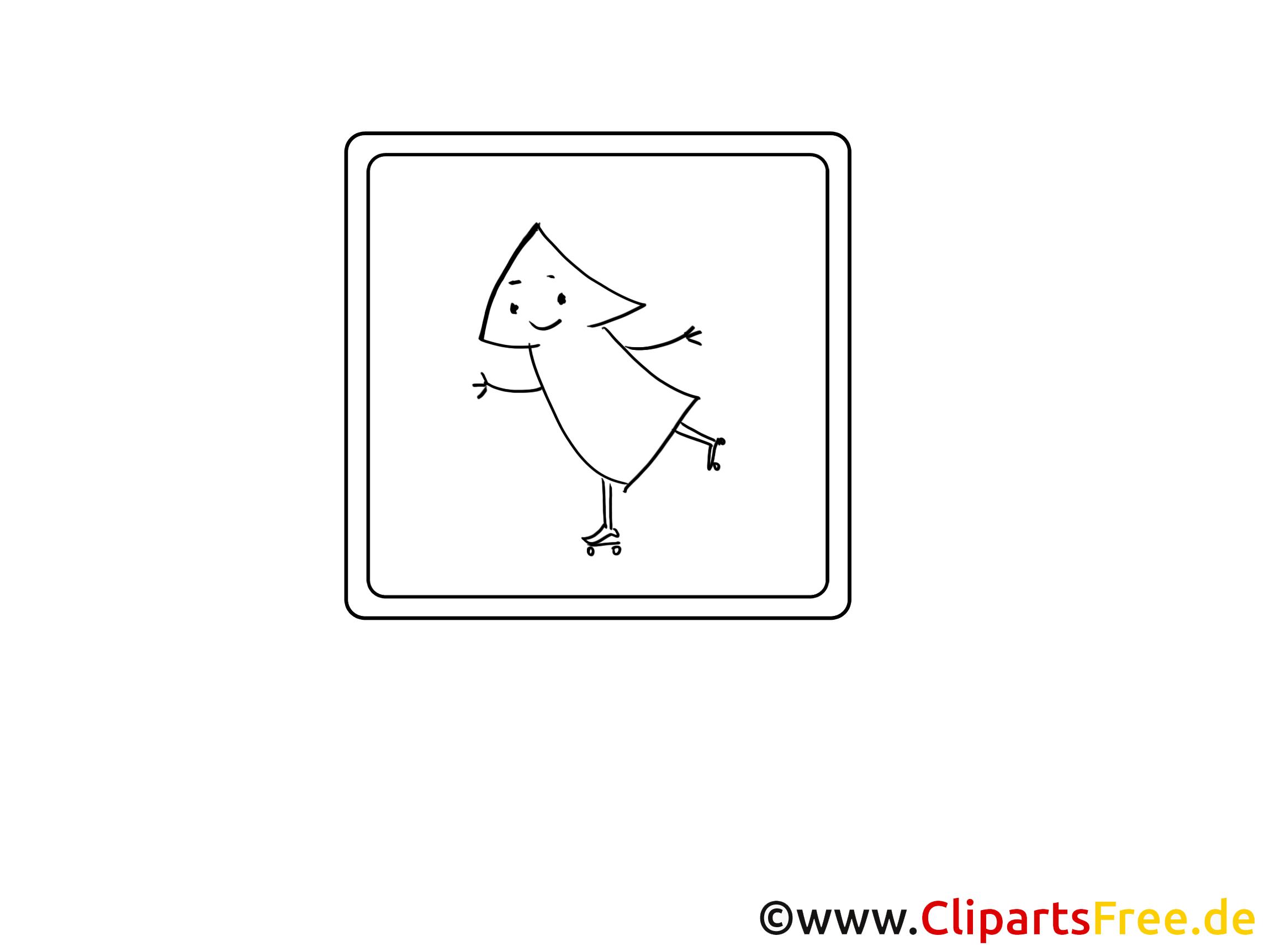 Flèche clipart – Divers dessins à colorier