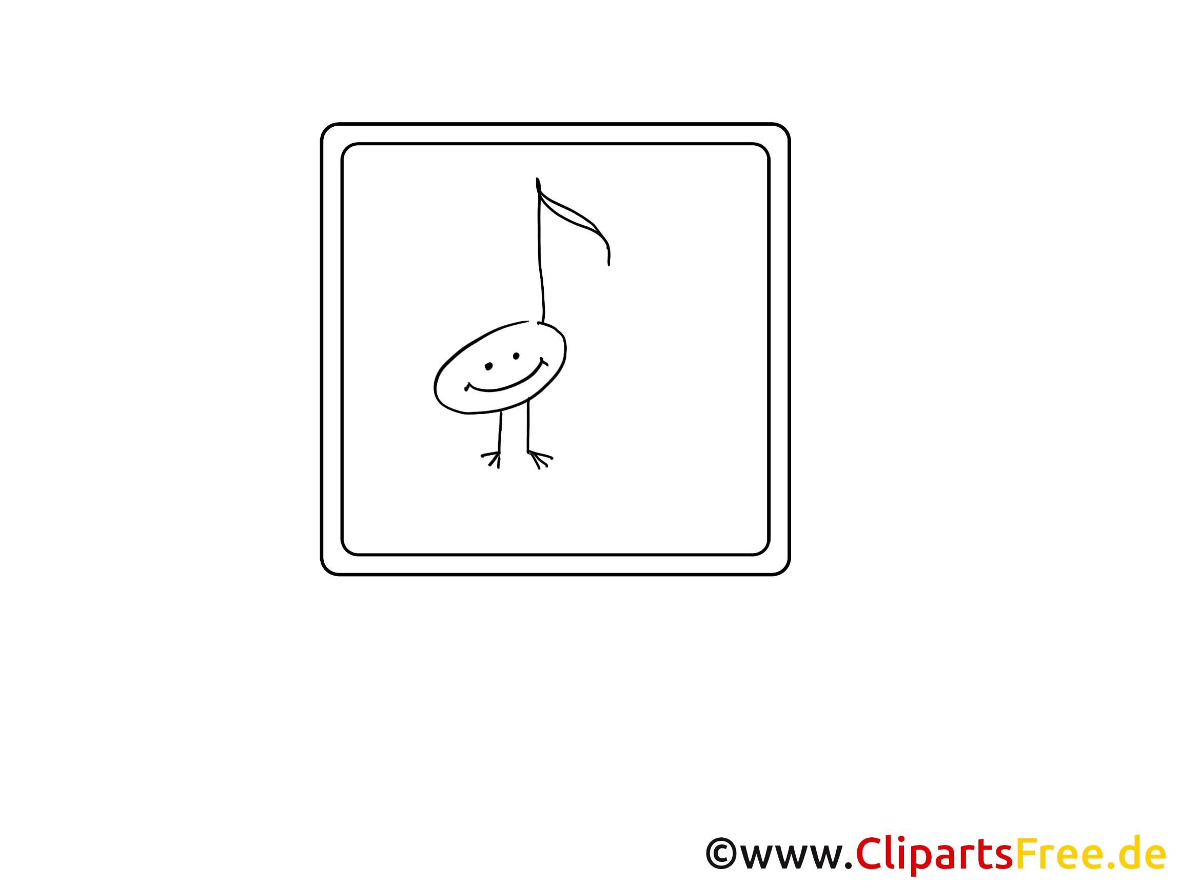 Note cliparts gratuis – Divers à imprimer