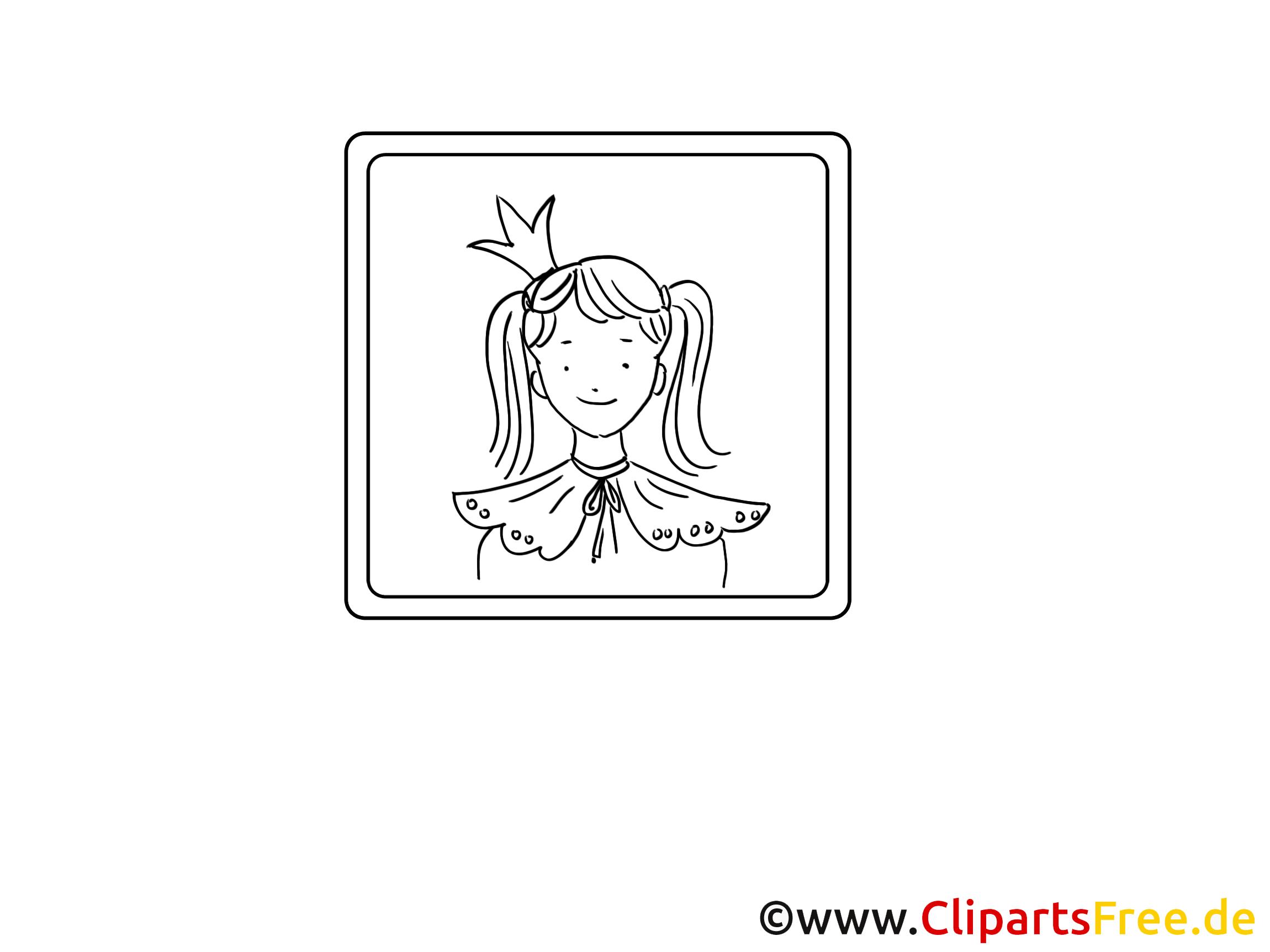 Princesse illustration – Divers à imprimer