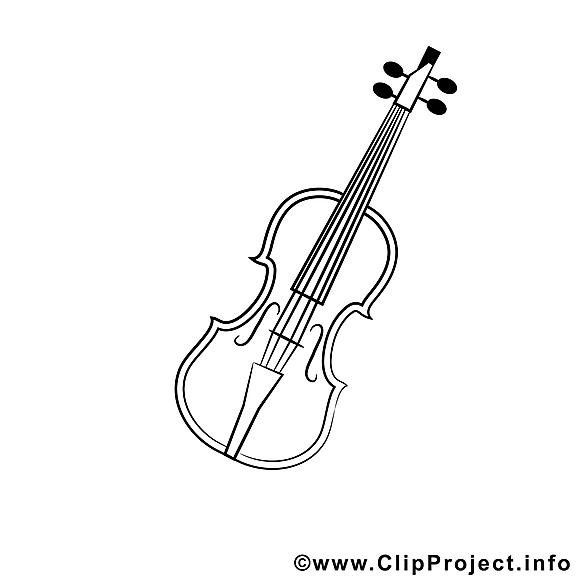 Violon clip arts – Divers à imprimer