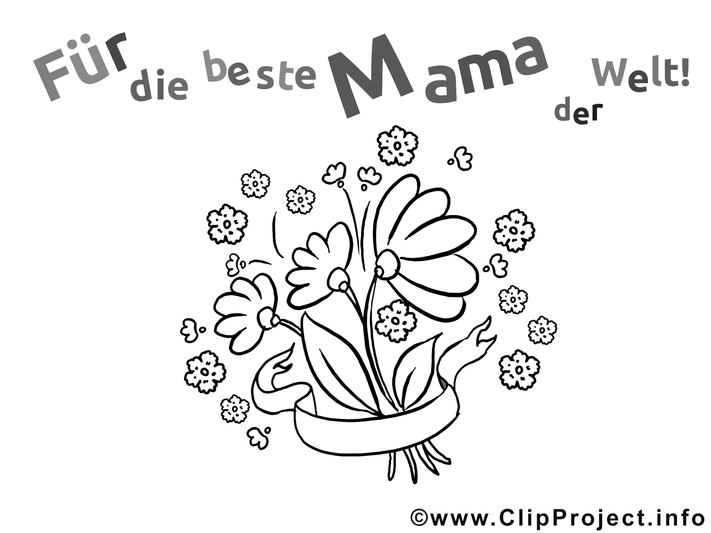 ausmalbilder happy birthday mama - malvorlagen