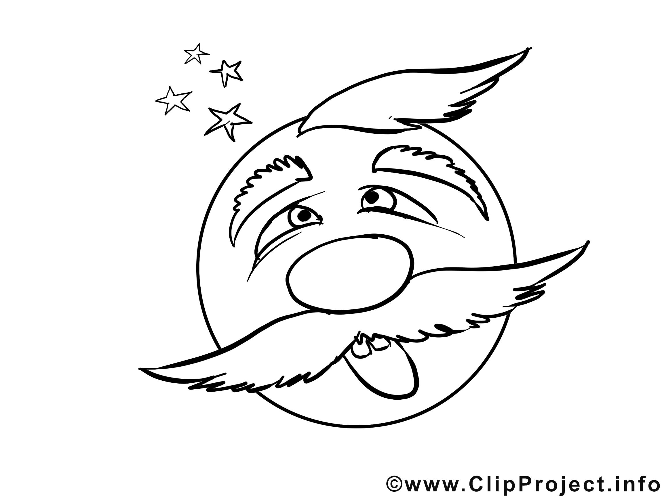 Désorienté dessin – Émoticônes gratuits à imprimer