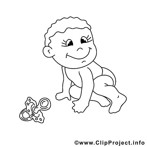Bébé clip art gratuit – Enfants à imprimer
