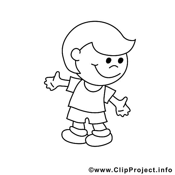 Gosse images – Enfants gratuits à imprimer