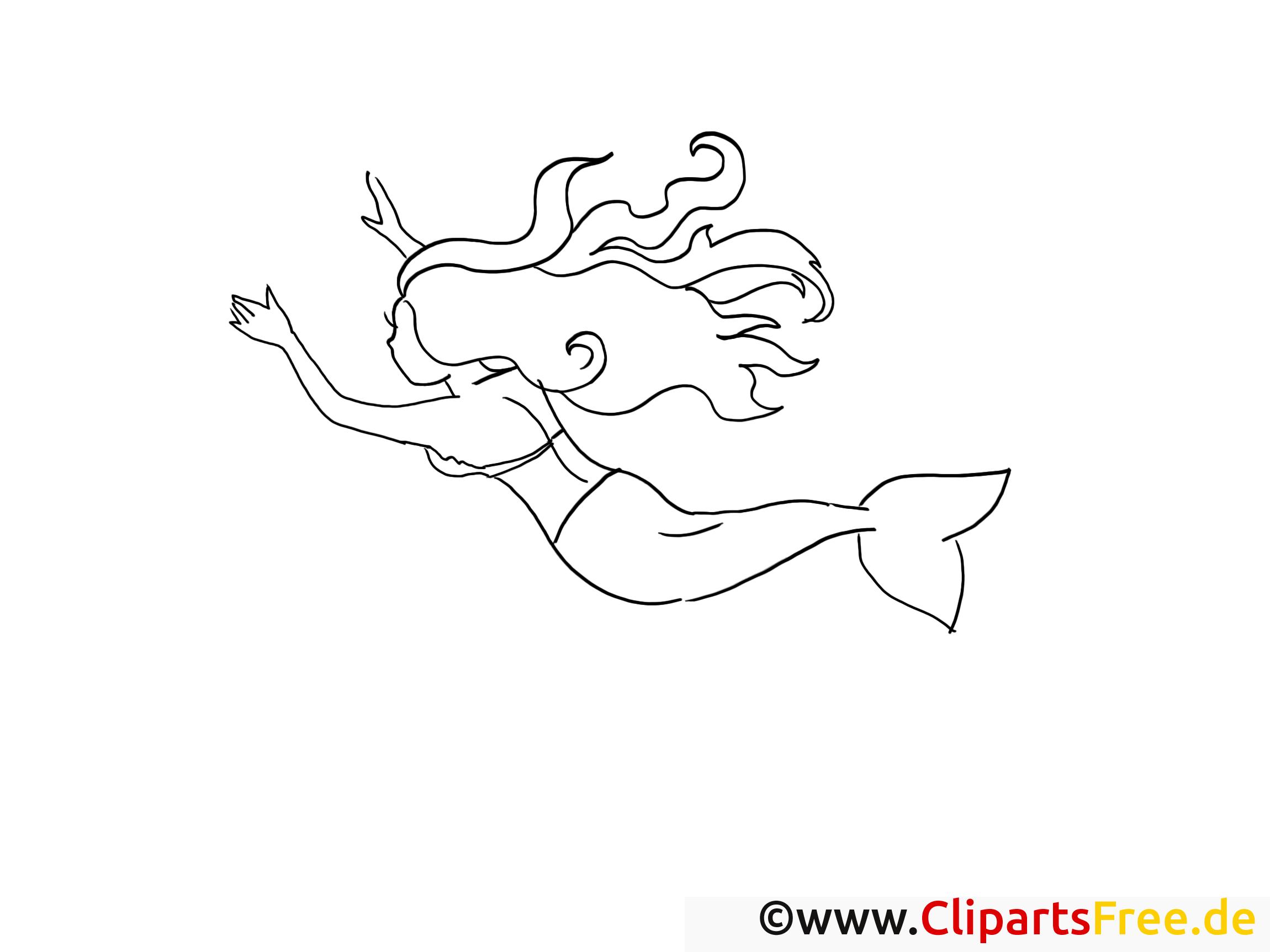 petite sirene dessin  conte gratuits à imprimer  fable