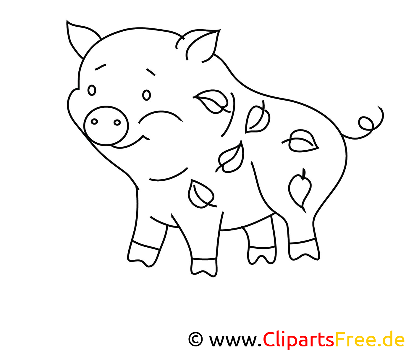 Cochon images – Campagne gratuit à imprimer
