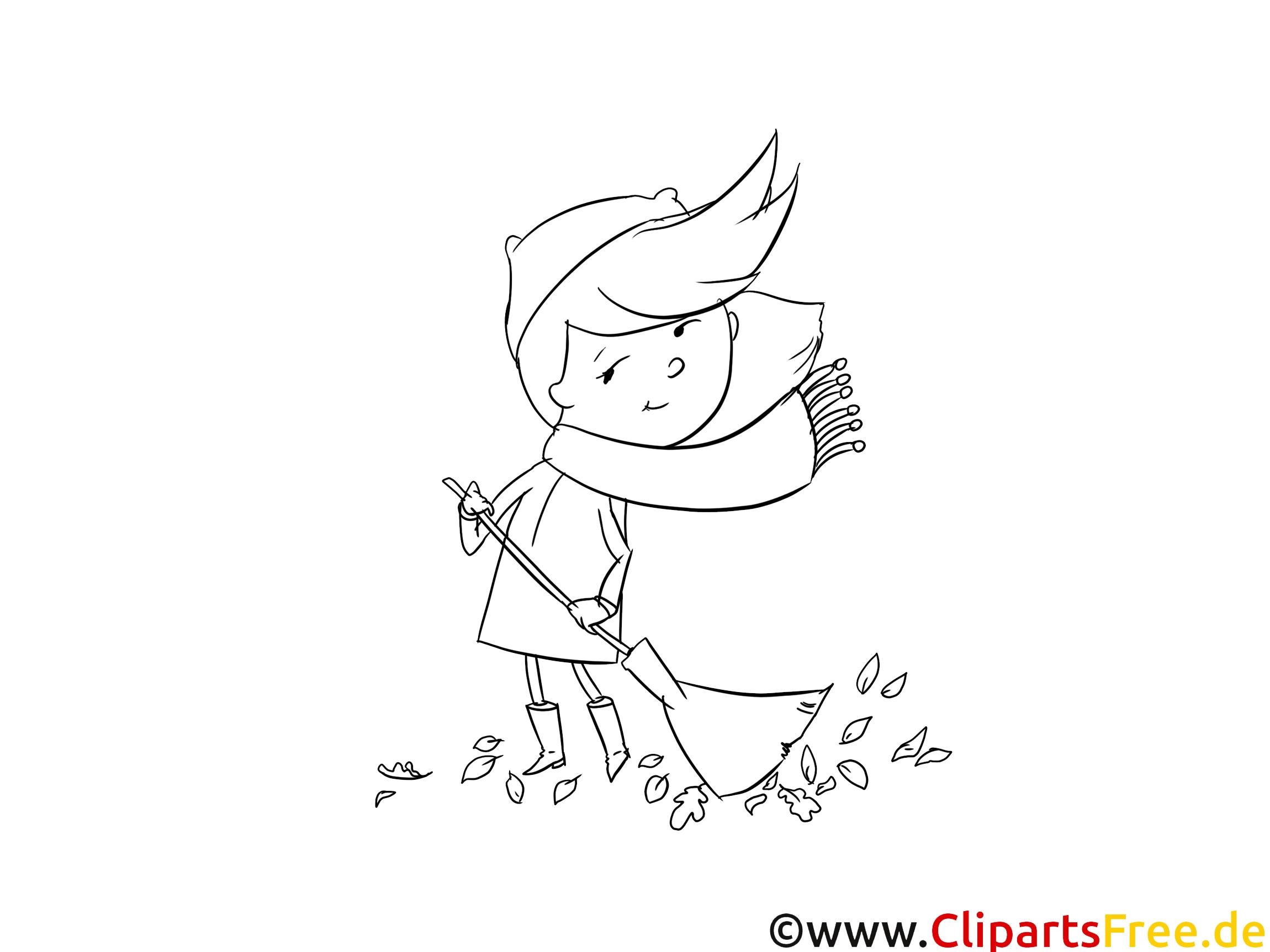 Balaiyeuse illustration – Fille à imprimer