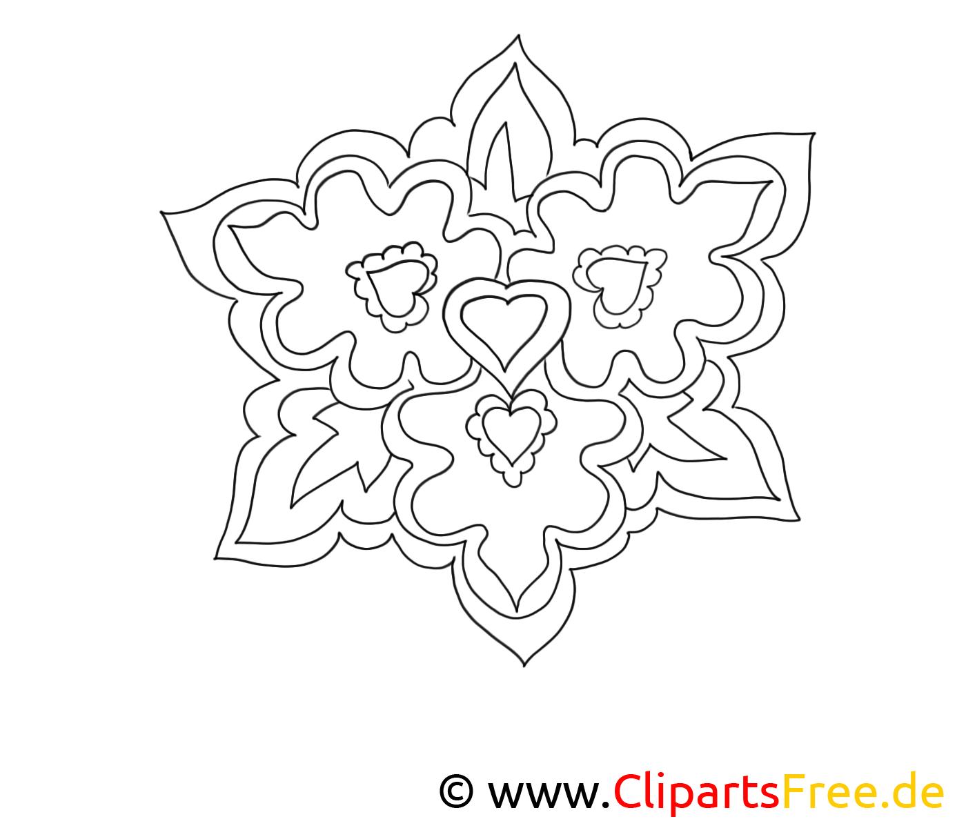 Image à télécharger floraison – Fleurs à colorier