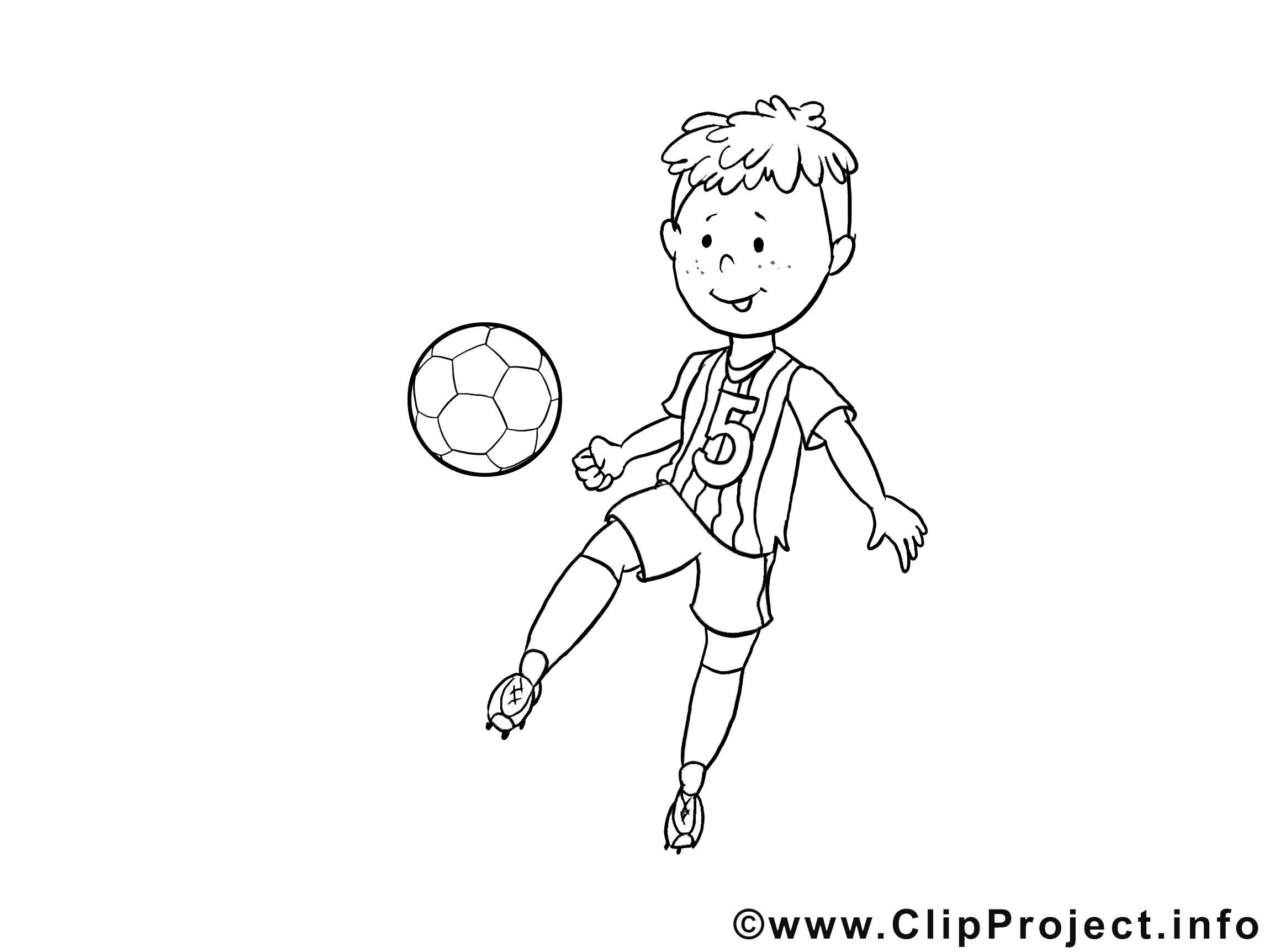 Inspirant Image A Imprimer De Ballon De Foot