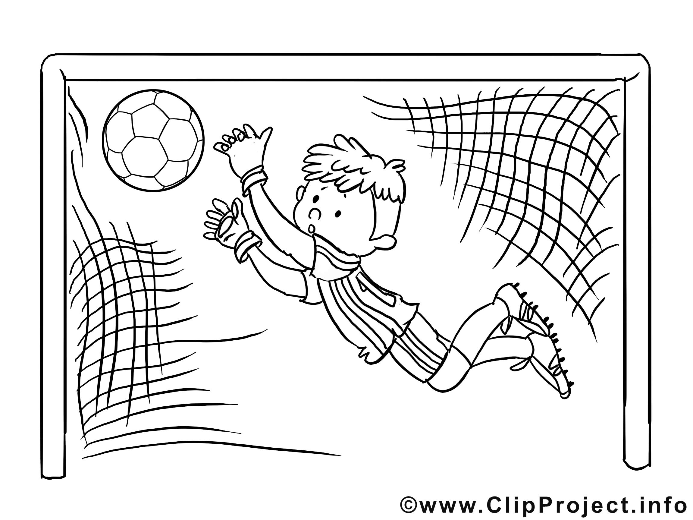 Goal image gratuite – Football à imprimer