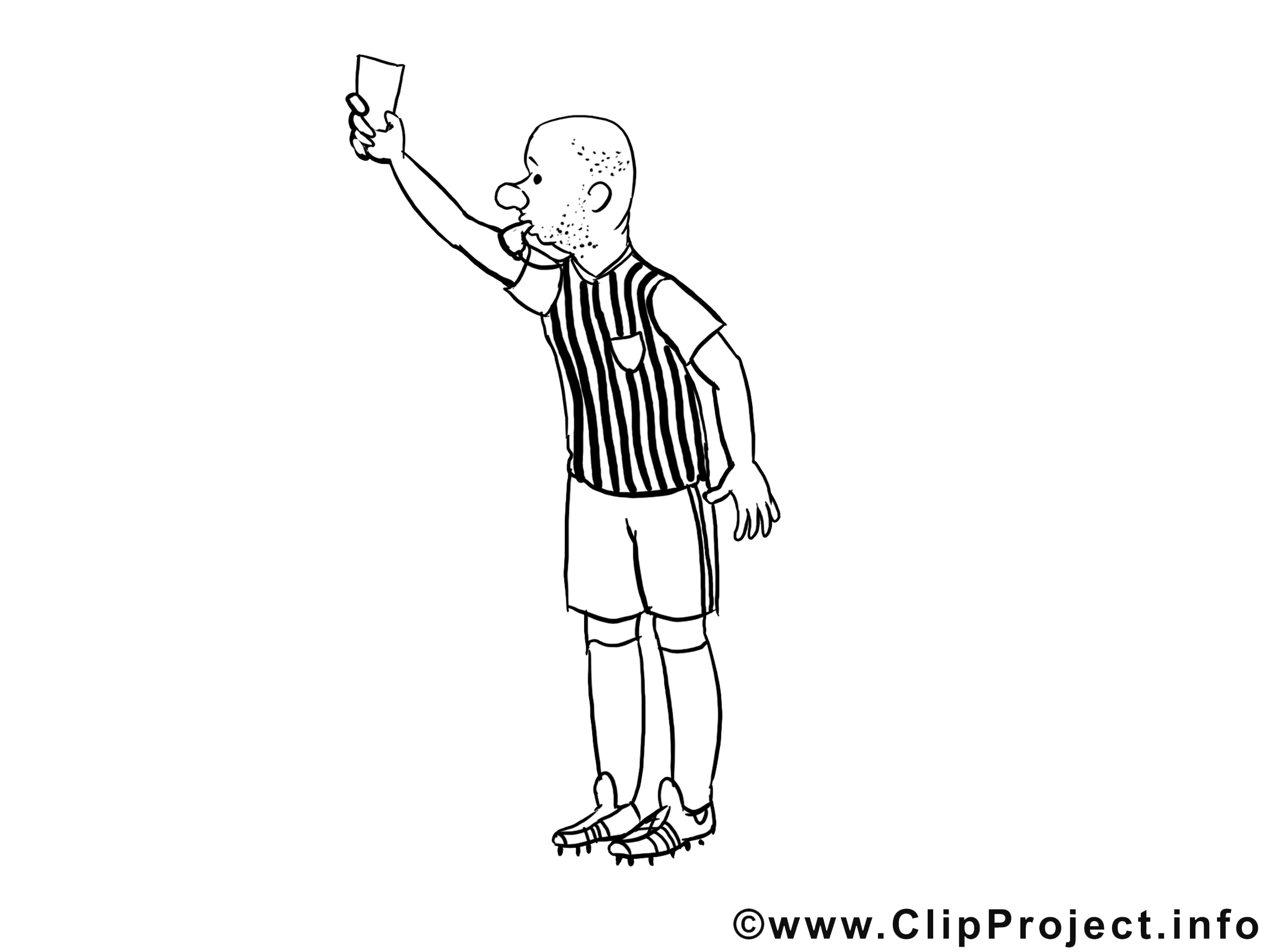 Penalty dessin – Coloriage football à télécharger