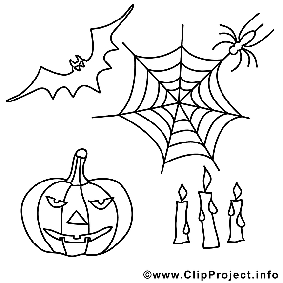 Décoration illustration – Halloween à imprimer