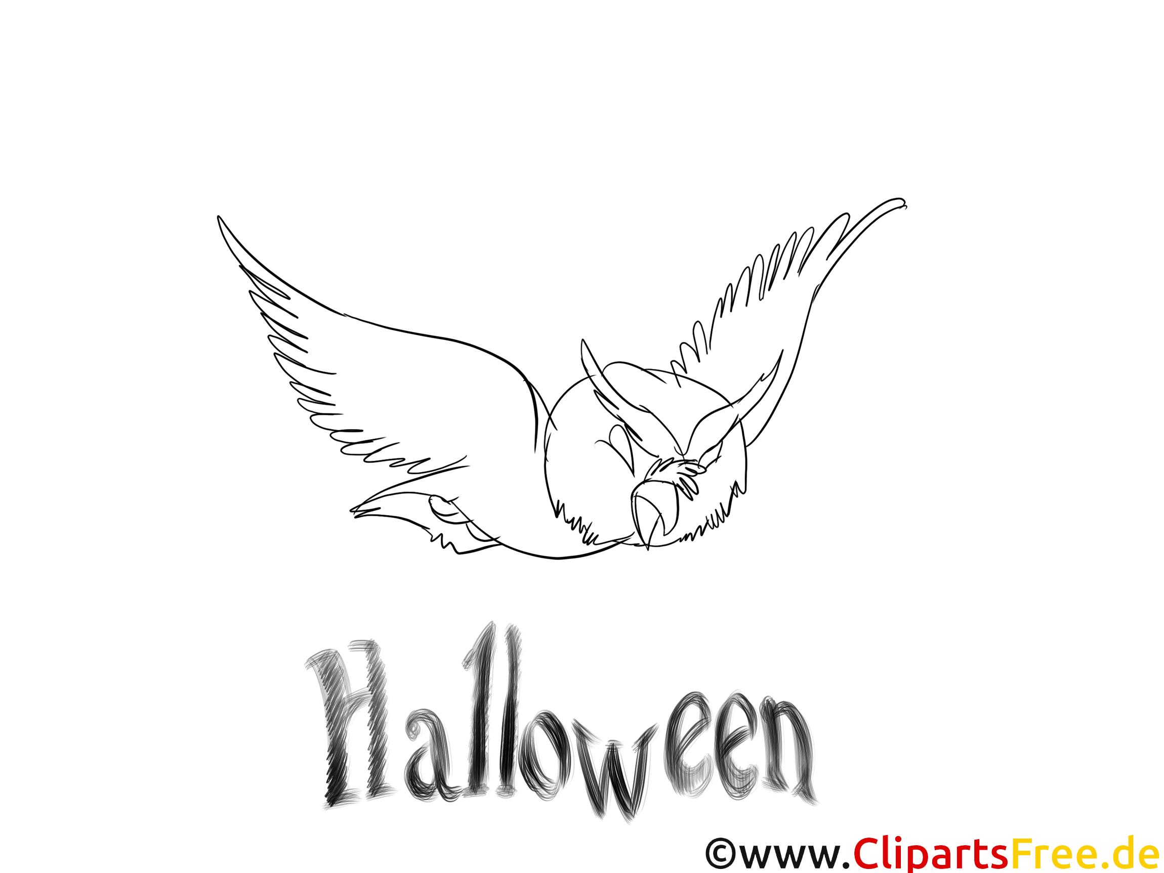 Image chauve-souris – Halloween images à colorier