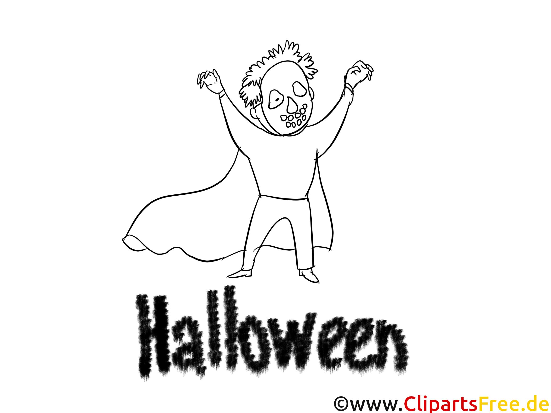 Michael Myers image – Halloween images à colorier