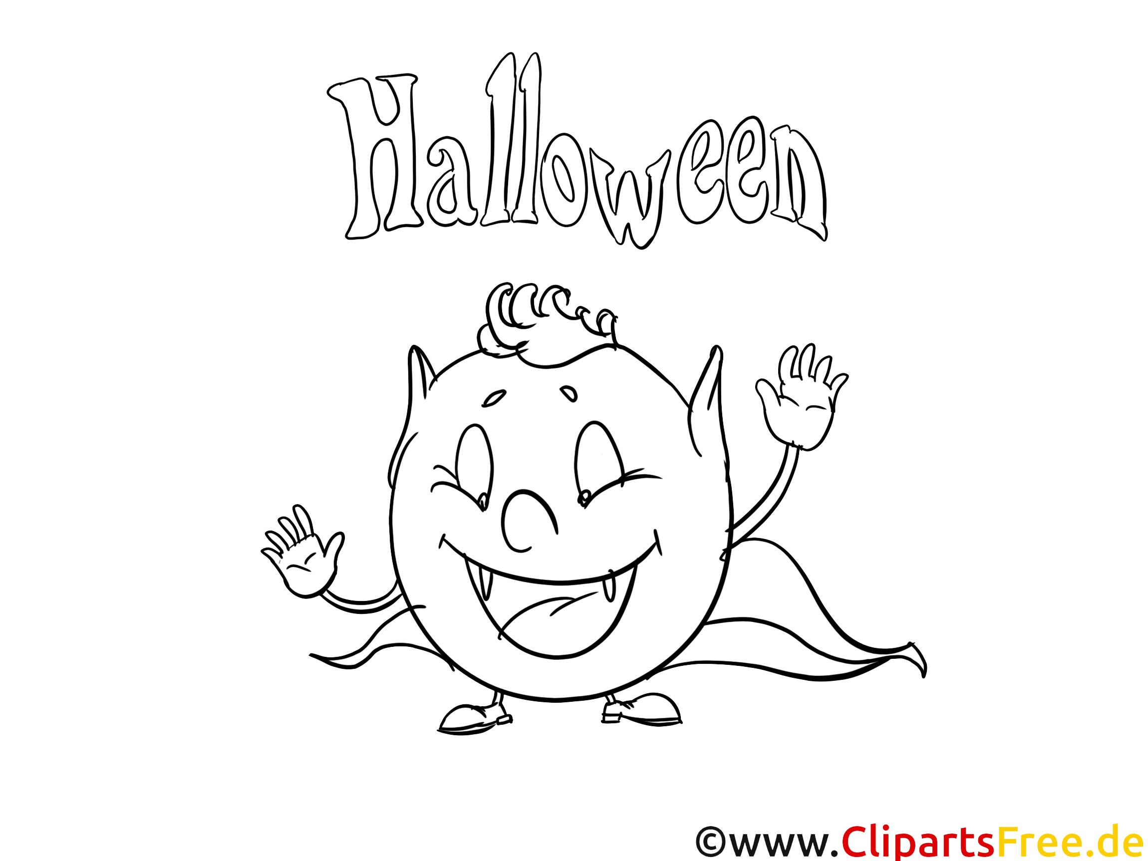 Monstre images – Halloween gratuit à imprimer