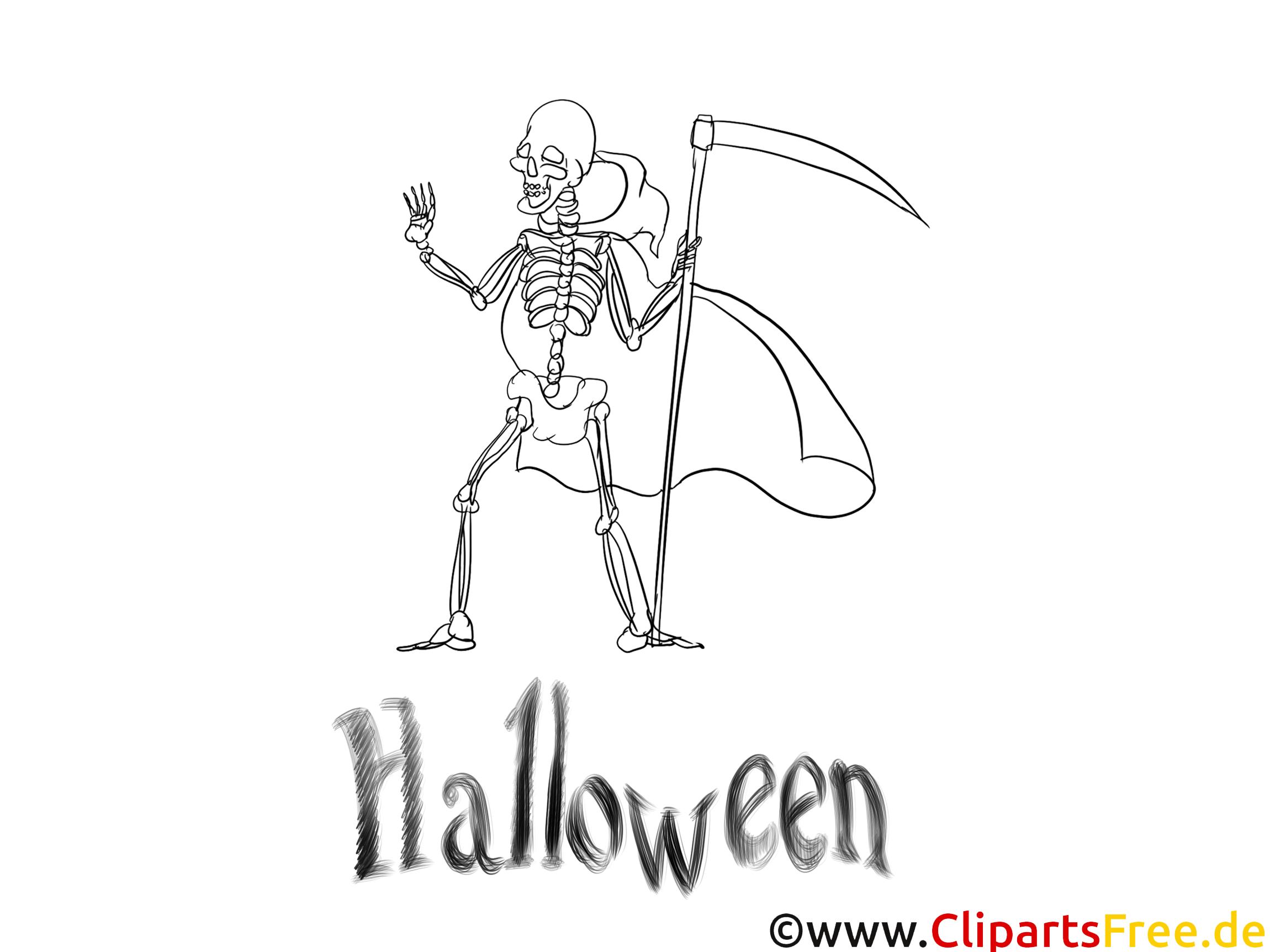 Squelette Dessin Halloween.Squelette Dessin Coloriage Halloween à Télécharger Halloween