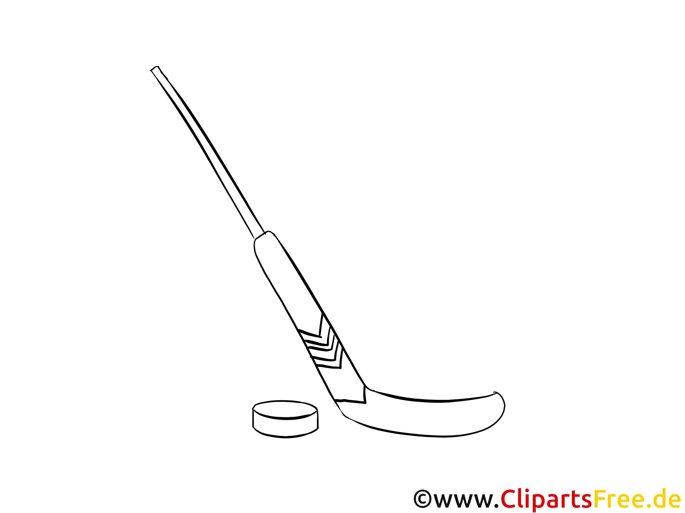 Inspirant Image A Colorier De Hockey
