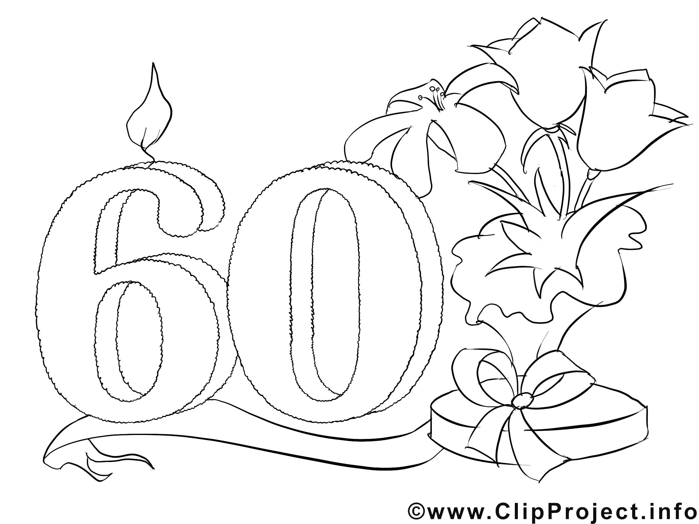 Coloriage Anniversaire Mamie 60 Ans.Luxe Dessin Imprimer Pour Anniversaire 60 Ans Mademoiselleosaki Com