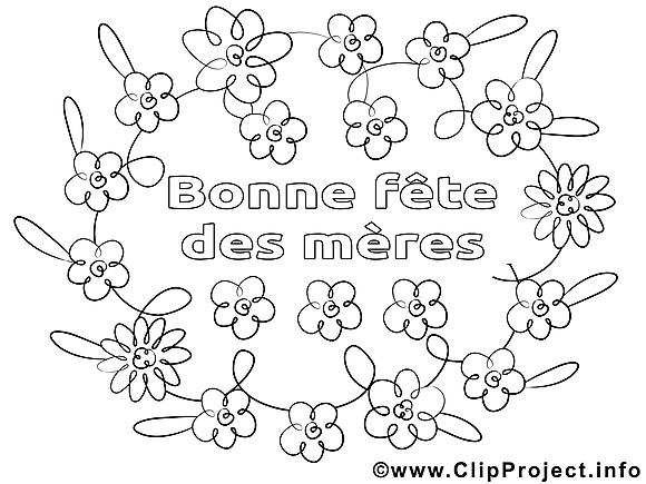 Fleurs images – Journée des femmes gratuits à imprimer