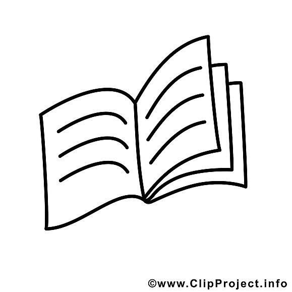 Cahier clipart gratuit cole colorier l 39 cole - Cahier de coloriage gratuit ...