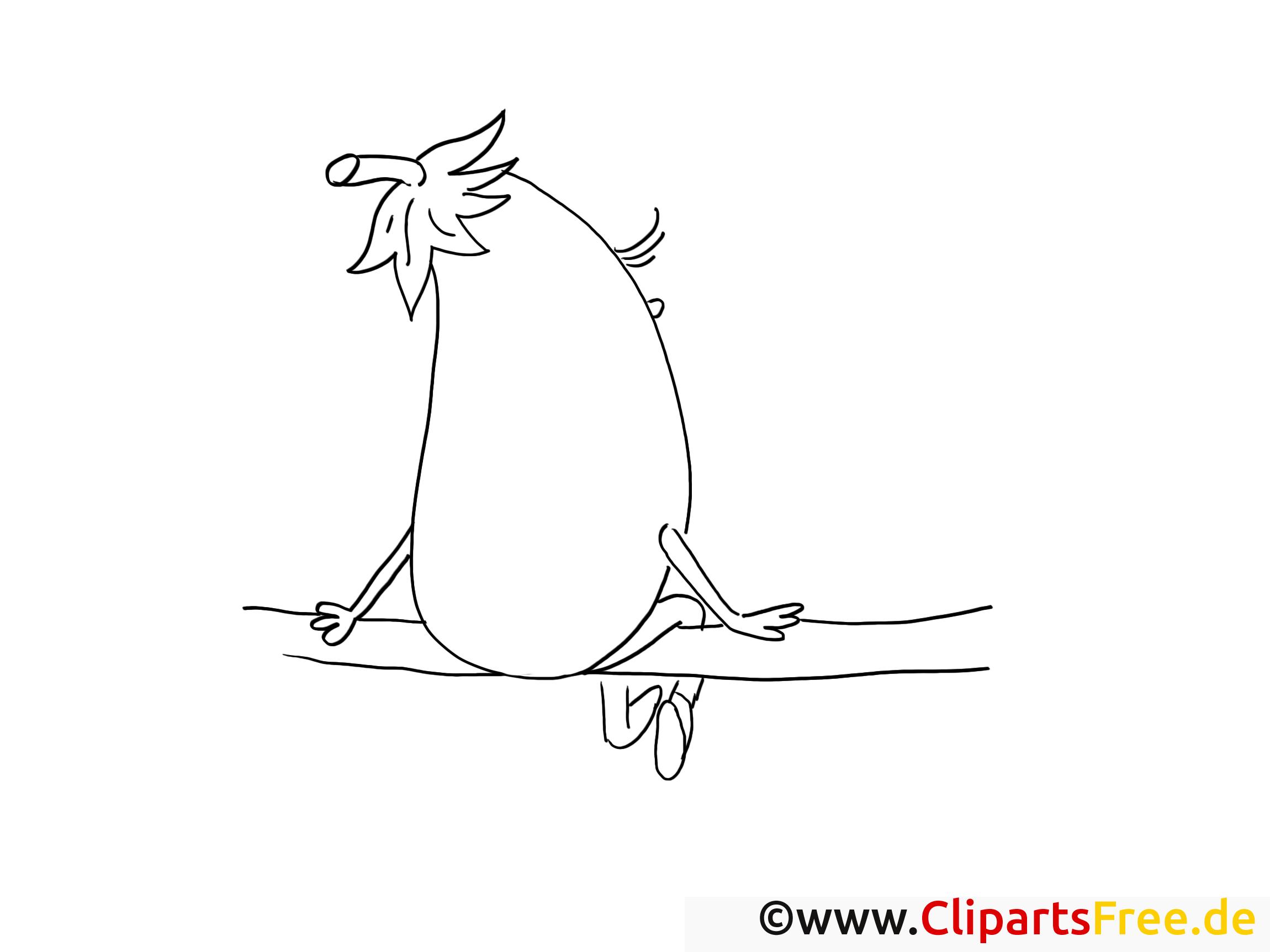 Aubergine dessins gratuits – Légumes à colorier
