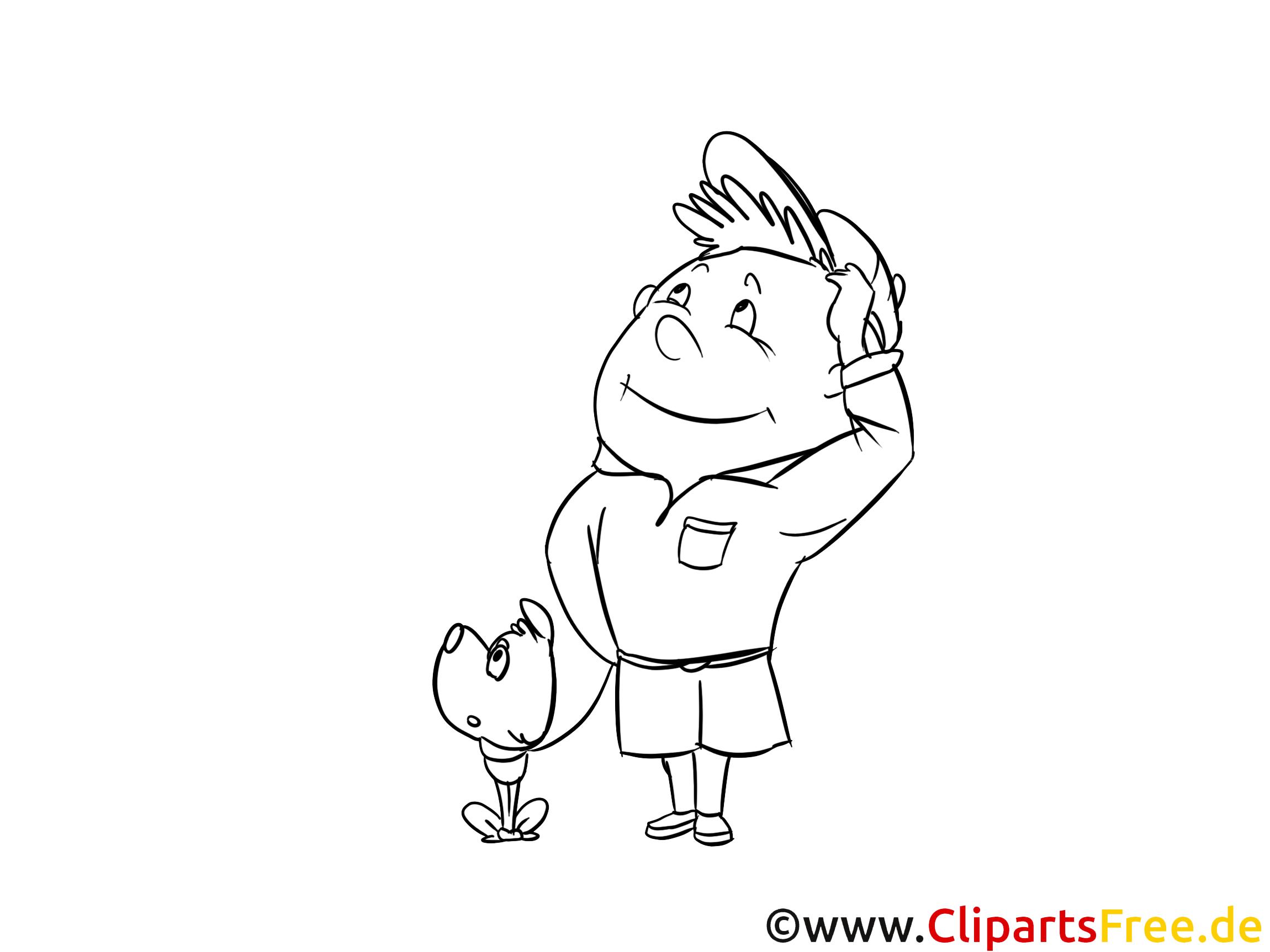 Boy-scout image gratuite – Maternelle à imprimer