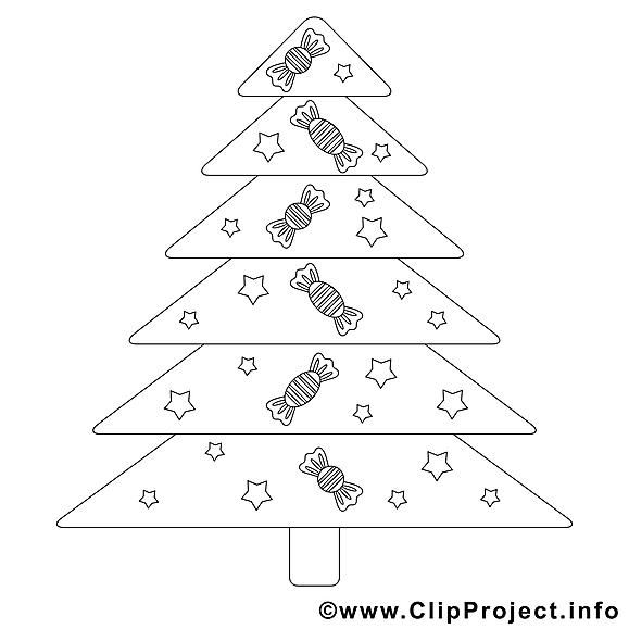 Bonbons images – Noël gratuit à imprimer