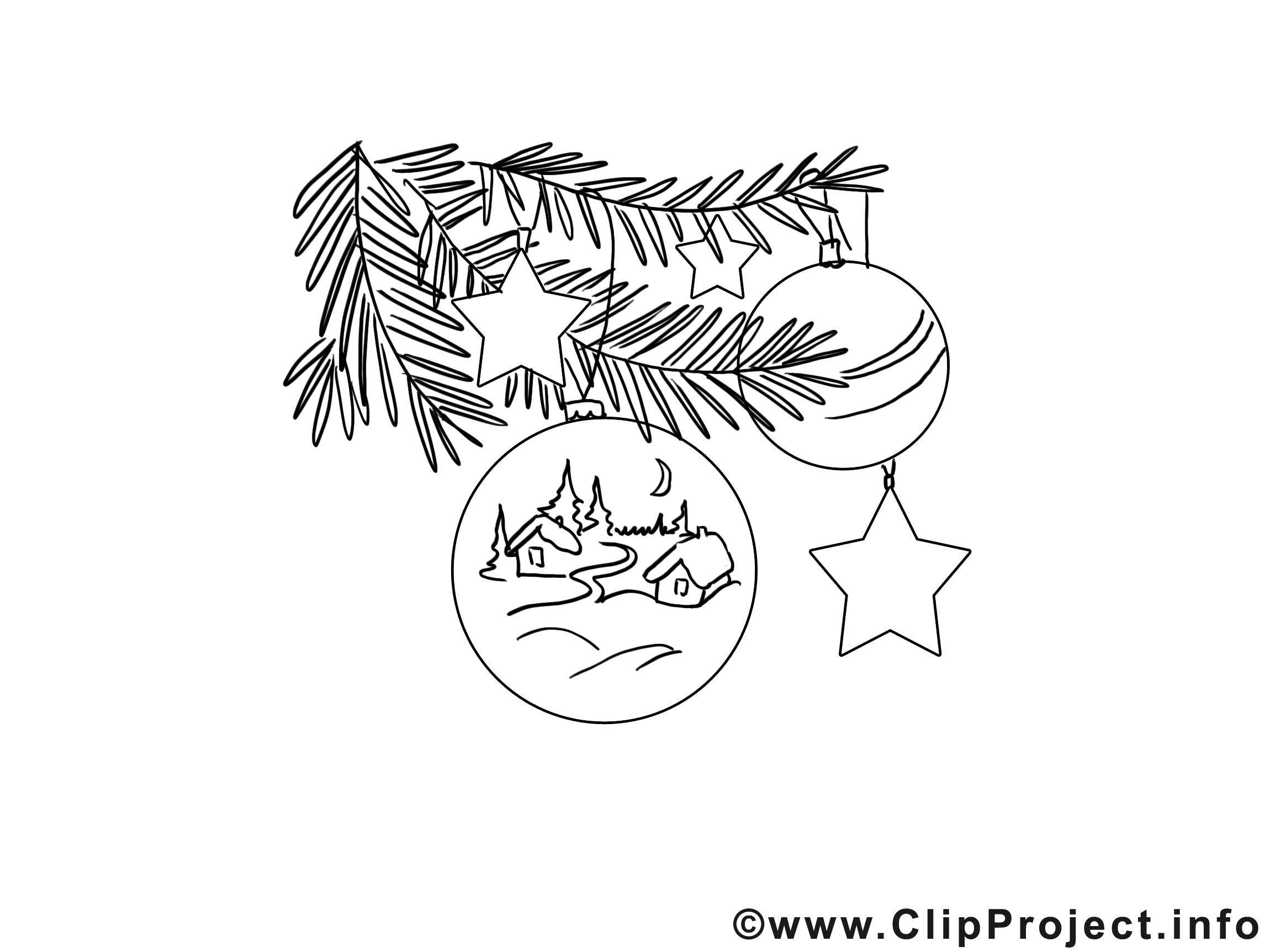 Boule maison clip art gratuit – Noël à imprimer