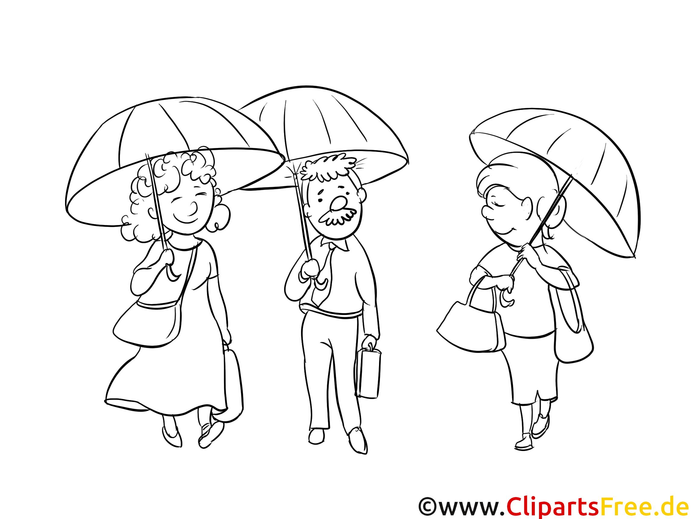 Parapluies dessin coloriage gens t l charger - Parapluie dessin ...