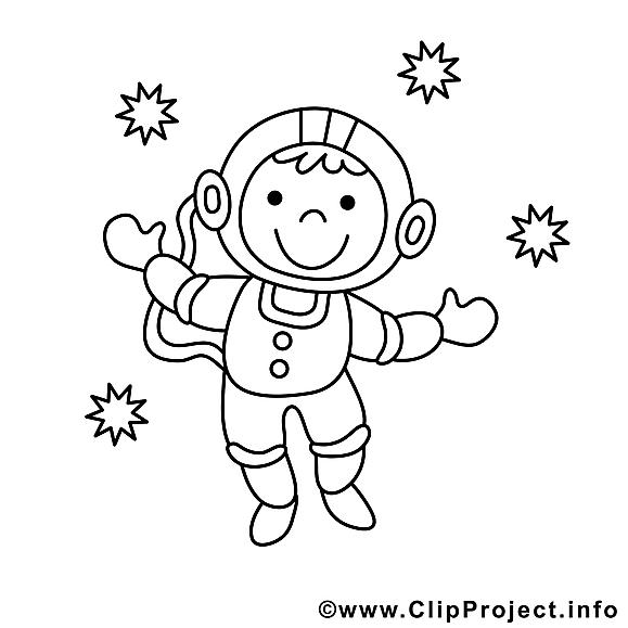 Cosmonaute clip arts – Métiers à imprimer