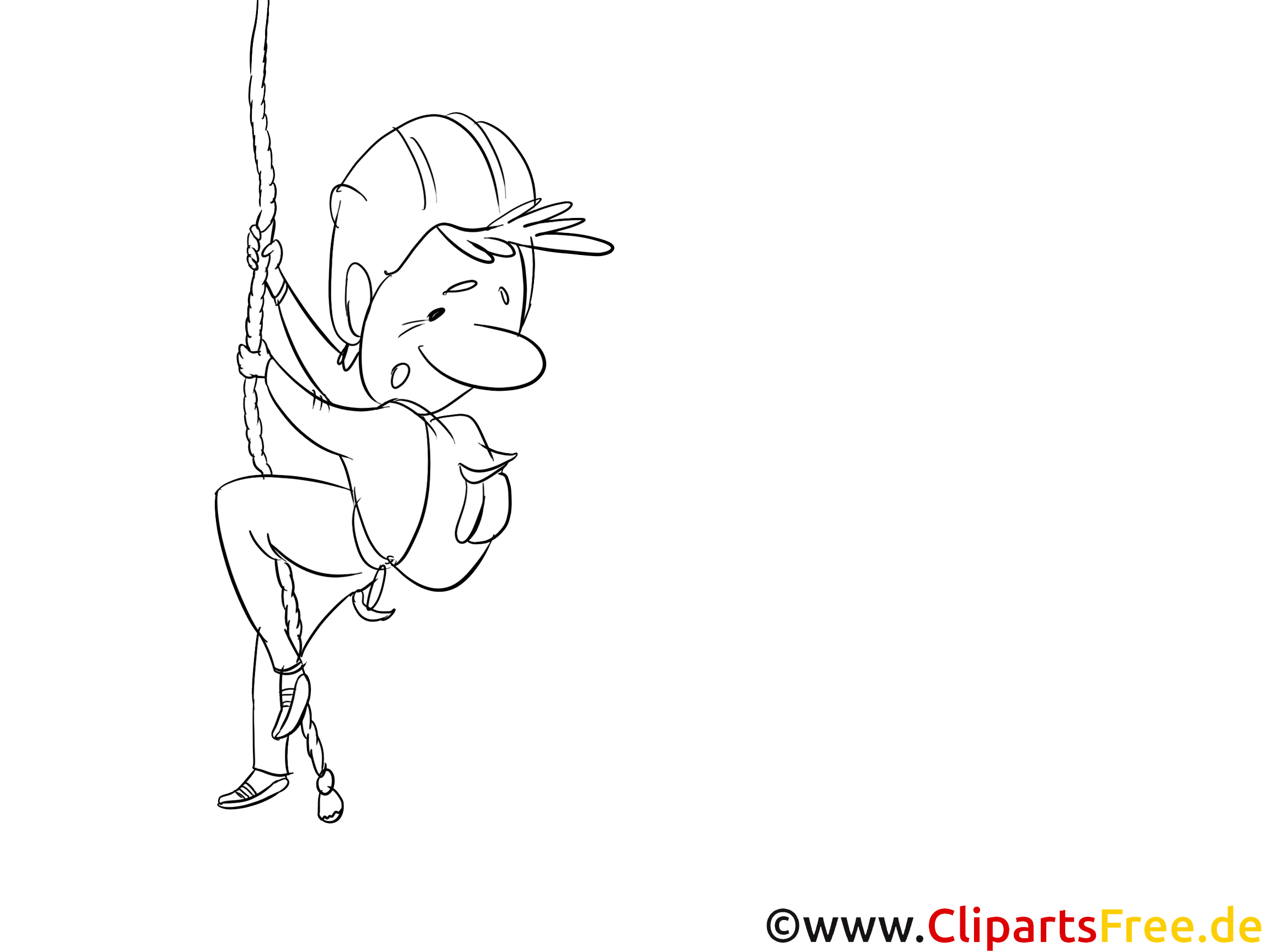 Sauveteur image – Coloriage métiers illustration