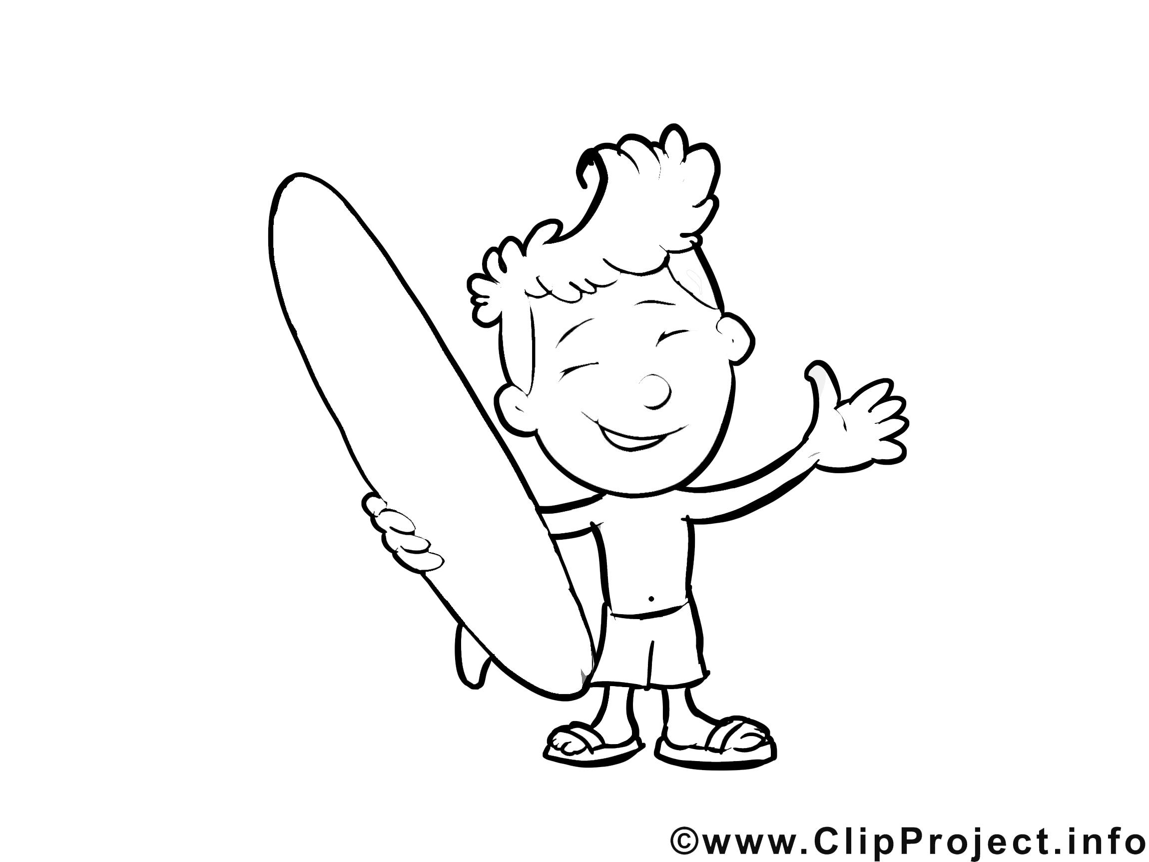 Surfeur images – Métiers gratuits à imprimer