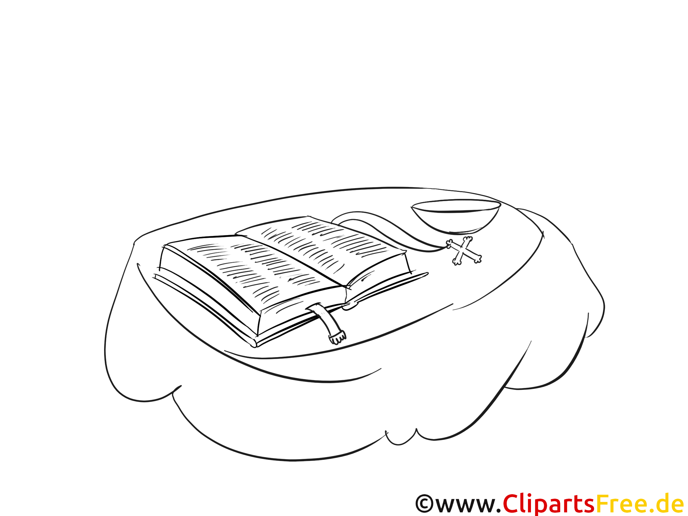 Bible dessin – Coloriage baptême à télécharger