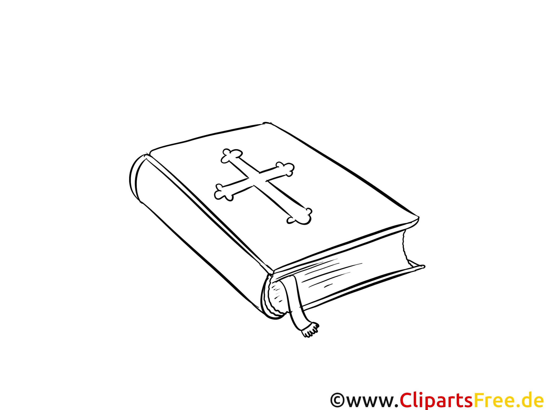 Bible image – Baptême images à colorier
