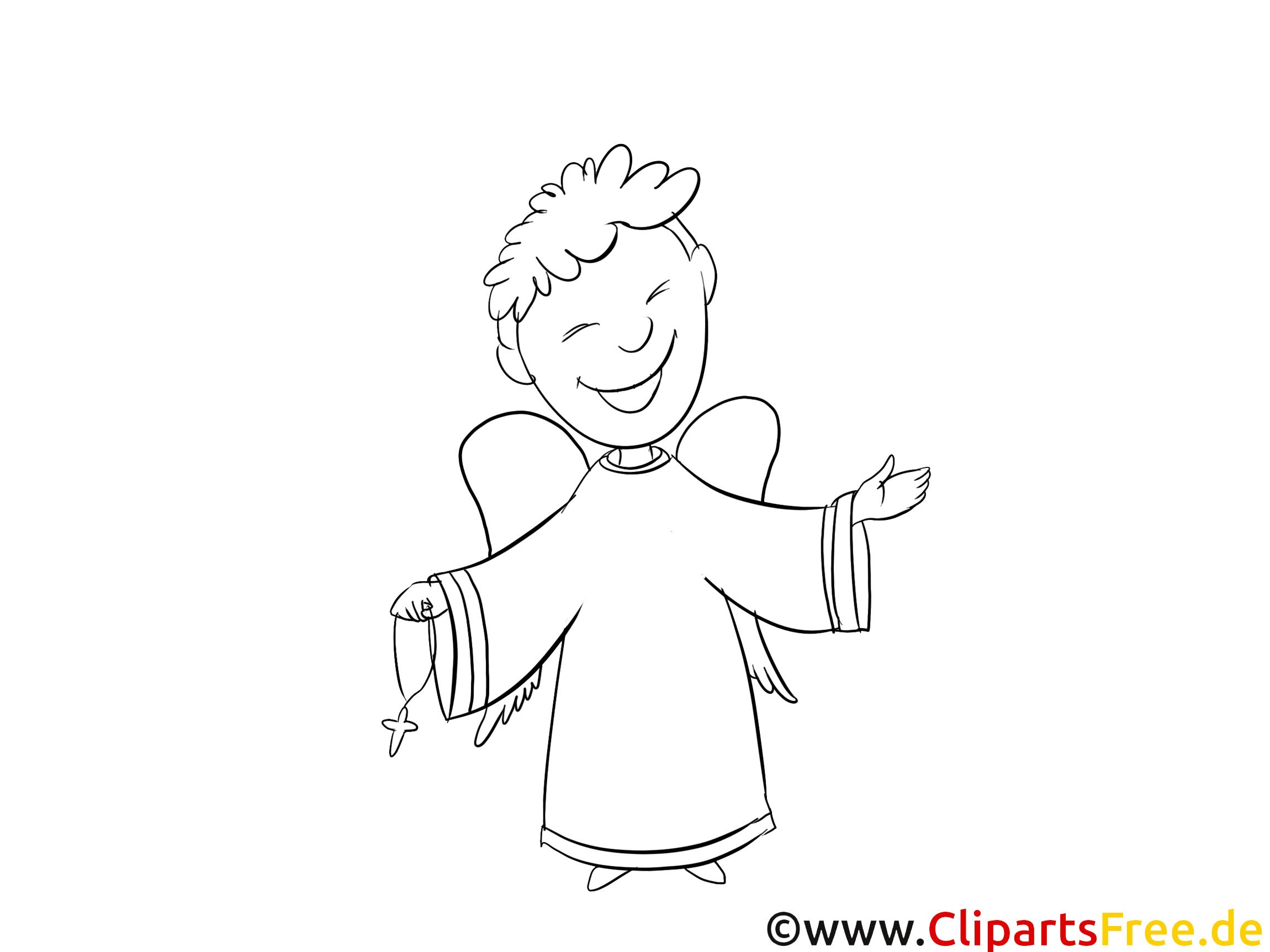 Clip arts prêtre – Baptême à imprimer