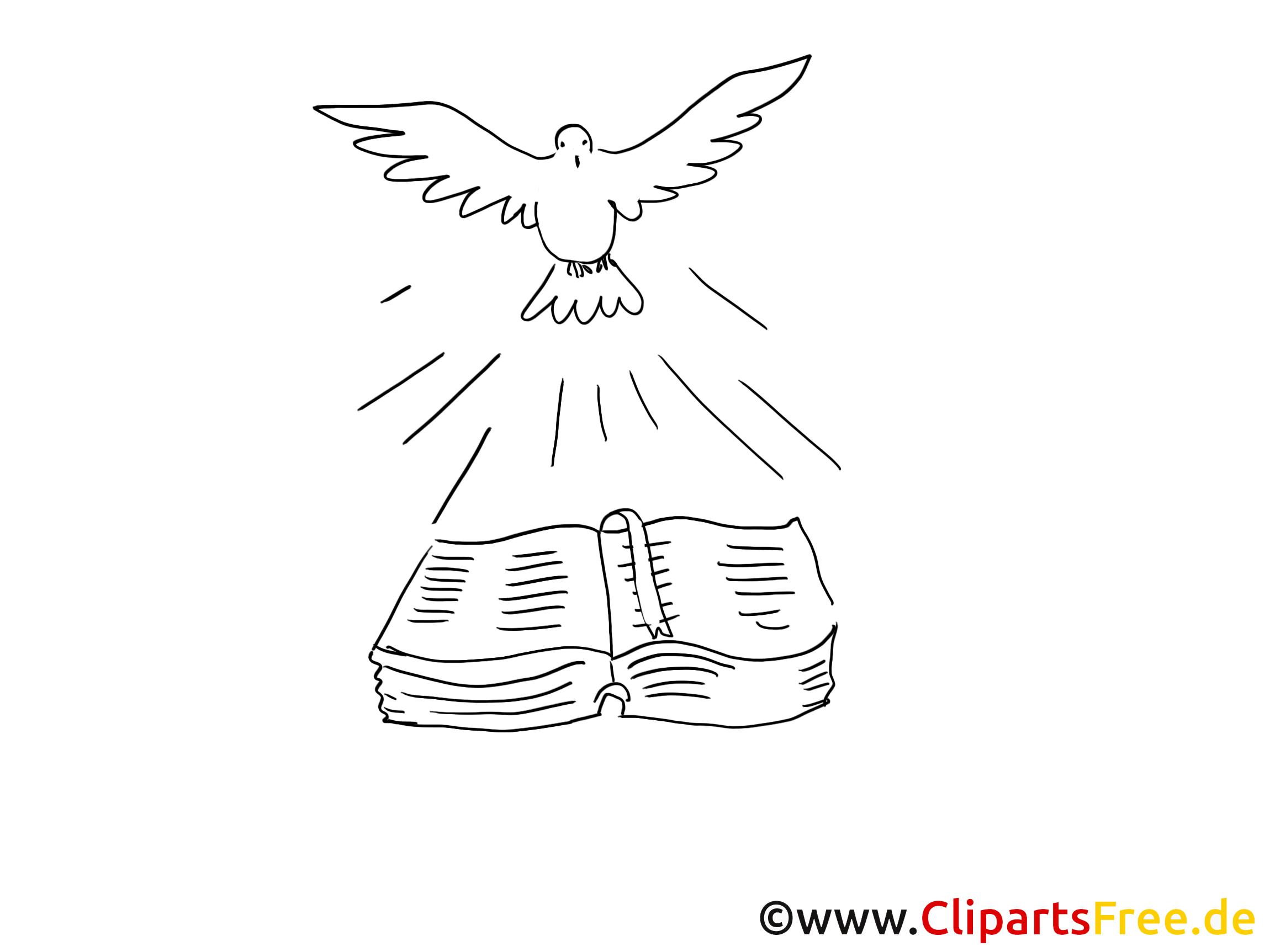 Dessin à télécharger bible – Baptême à colorier