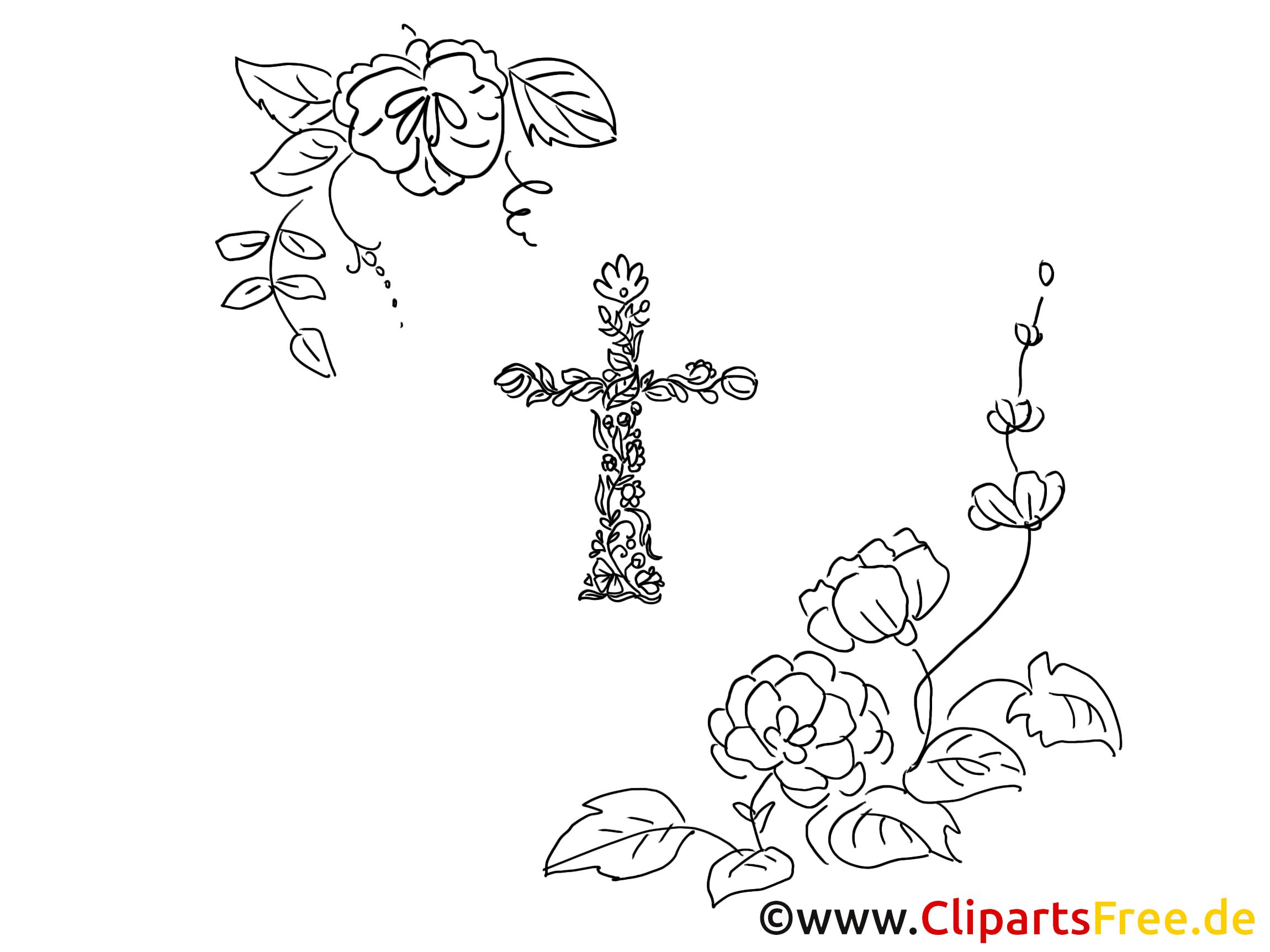 Fleurs illustration – Baptême à imprimer